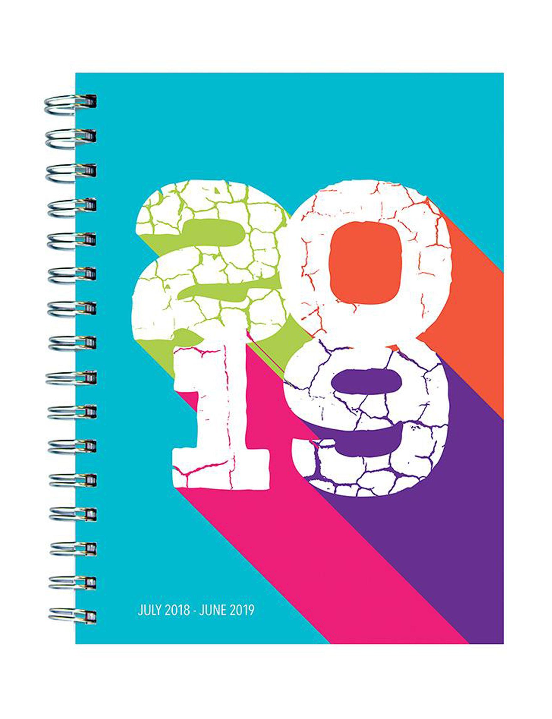 TF Publishing Blue Multi Calendars & Planners School & Office Supplies