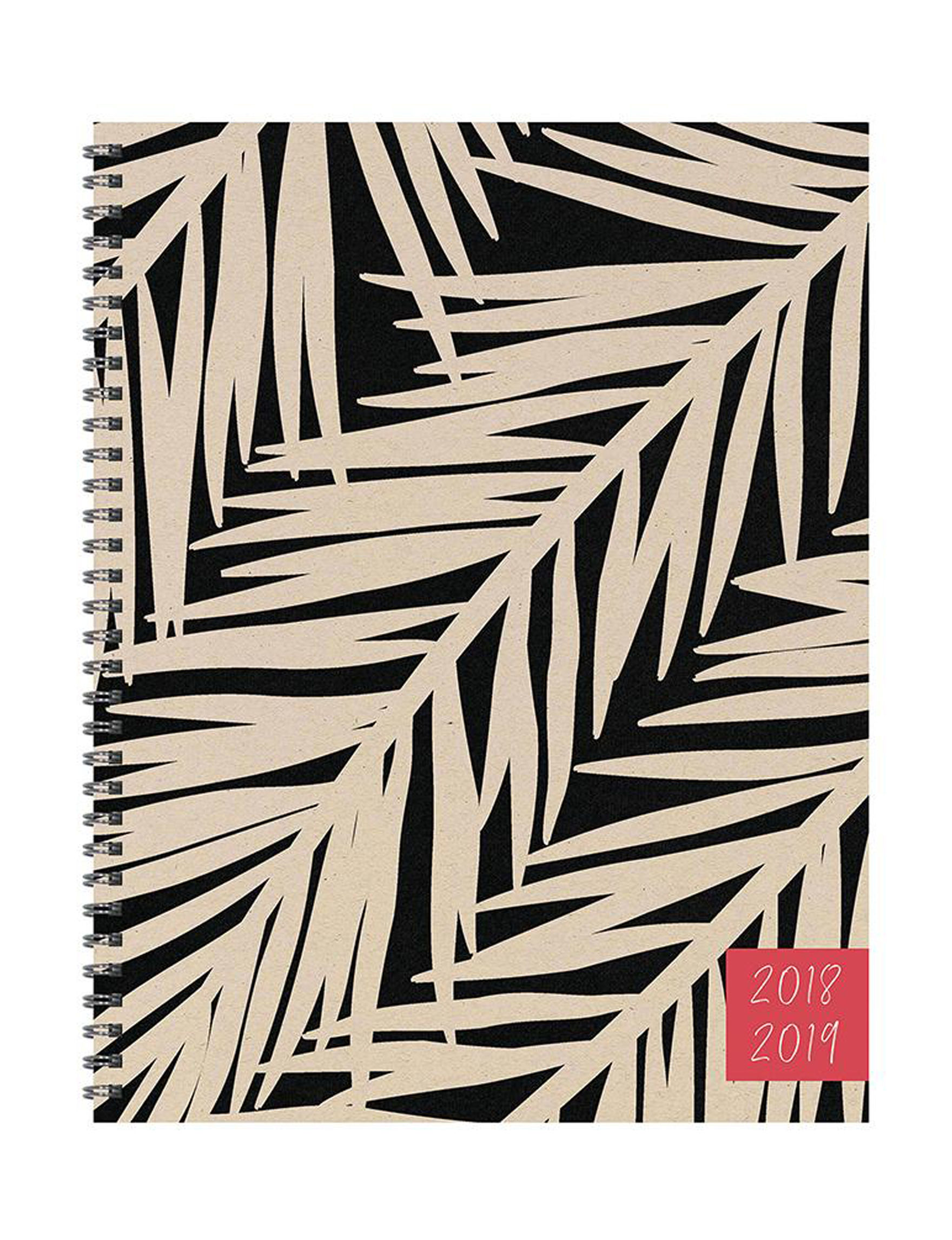 TF Publishing Black Calendars & Planners School & Office Supplies