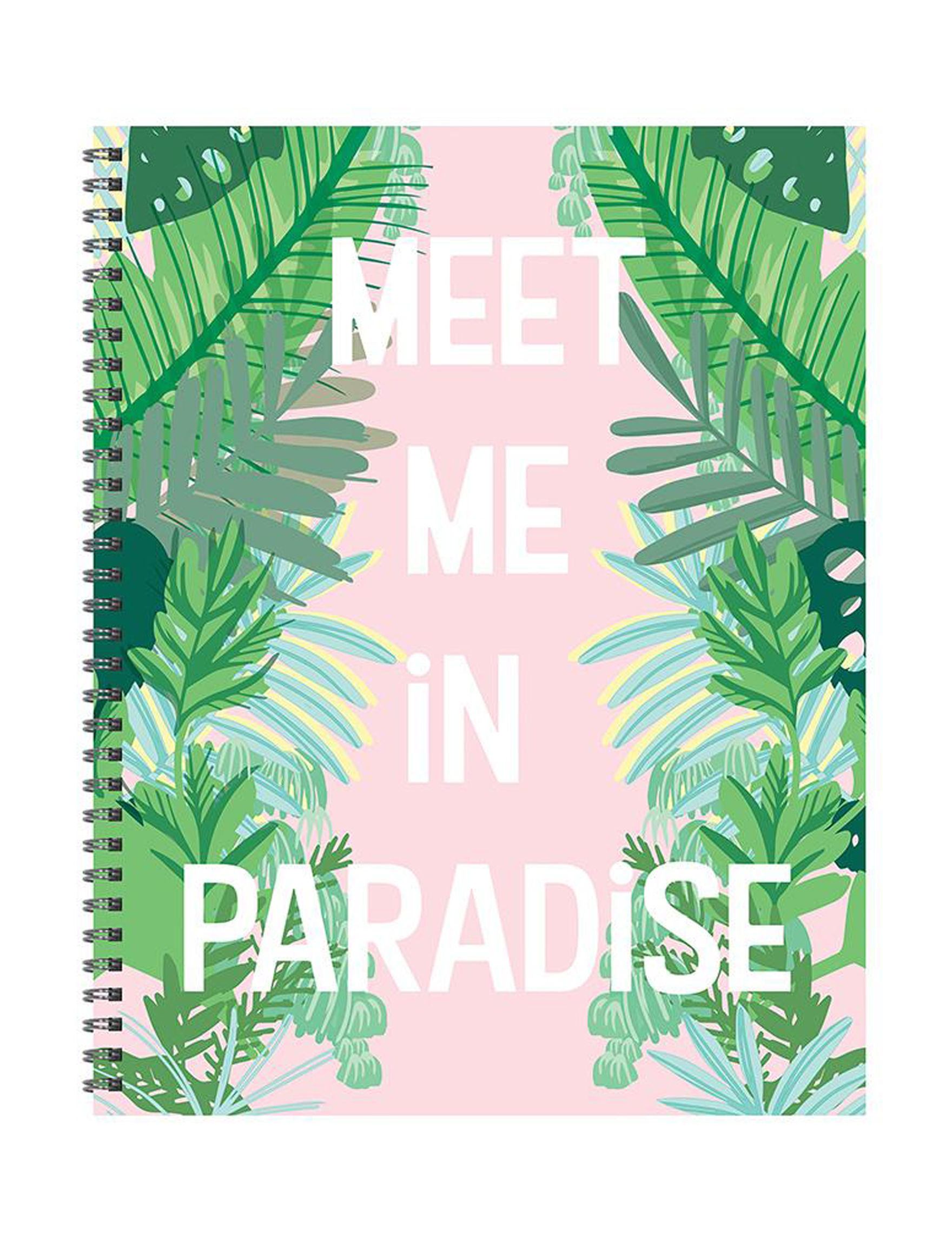 TF Publishing Pink / Green Calendars & Planners School & Office Supplies