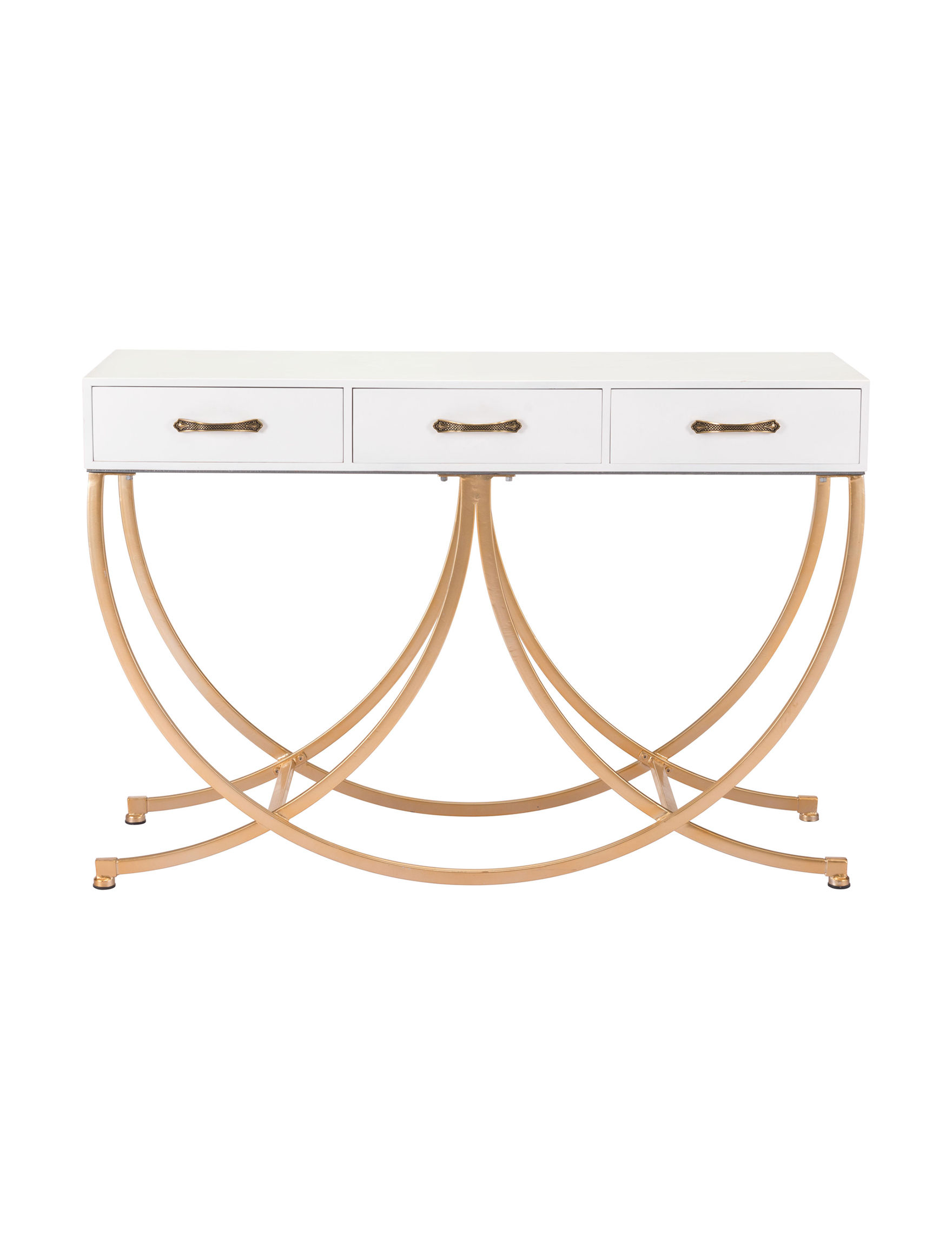 Zuo Modern White Accent & End Tables Living Room Furniture