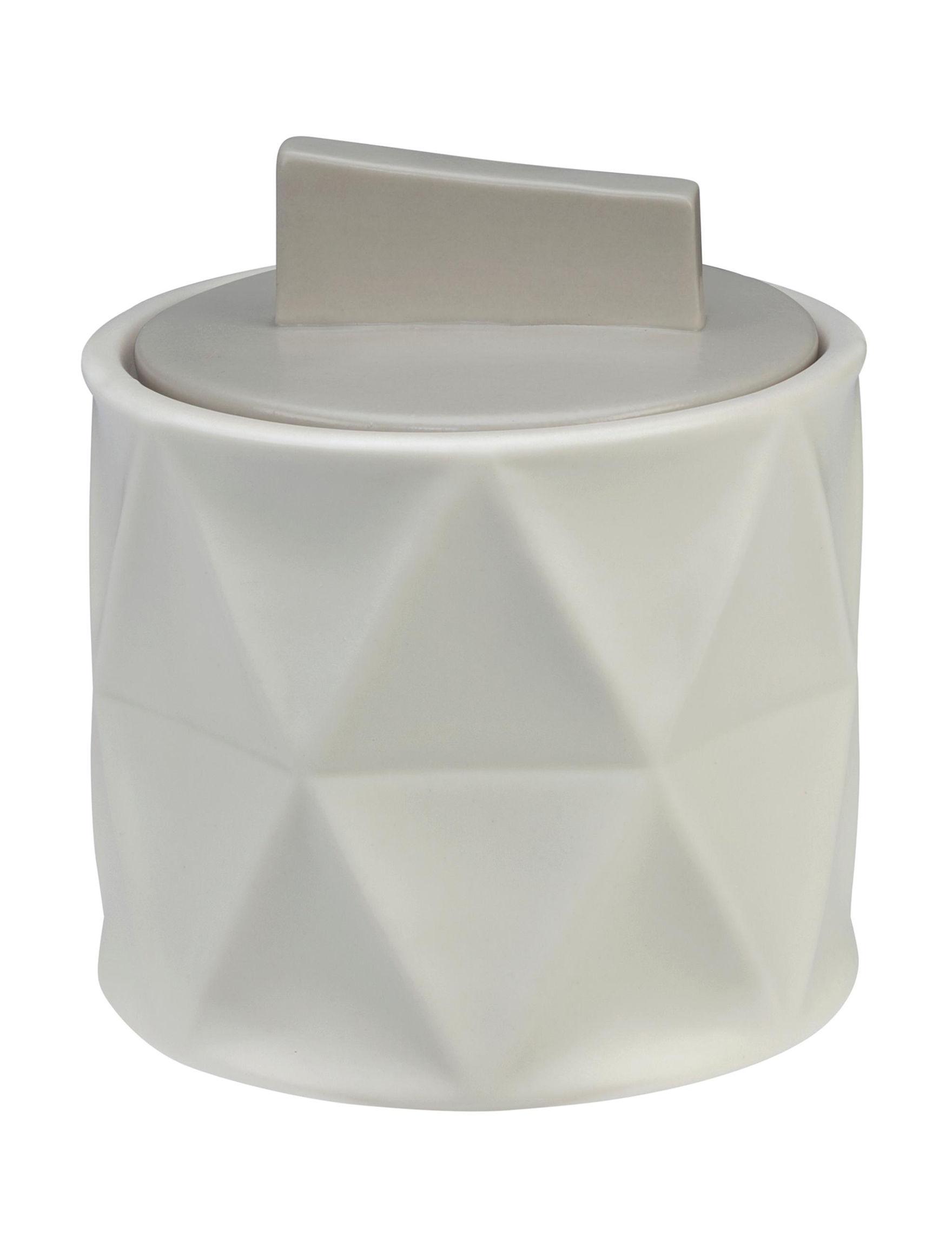 Creativeware Natural Trays & Jars Bath Accessories