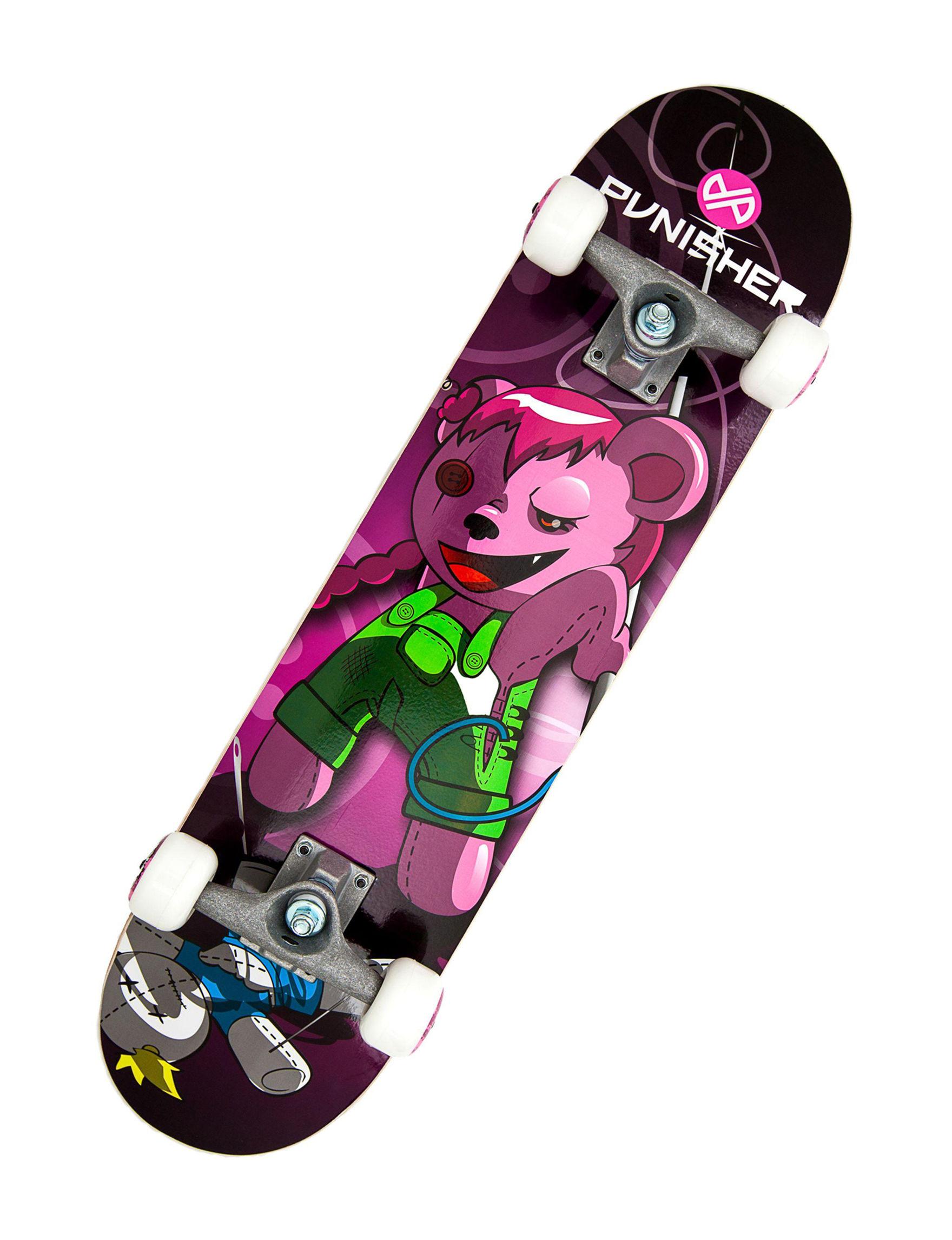 Punisher Skateboards Black