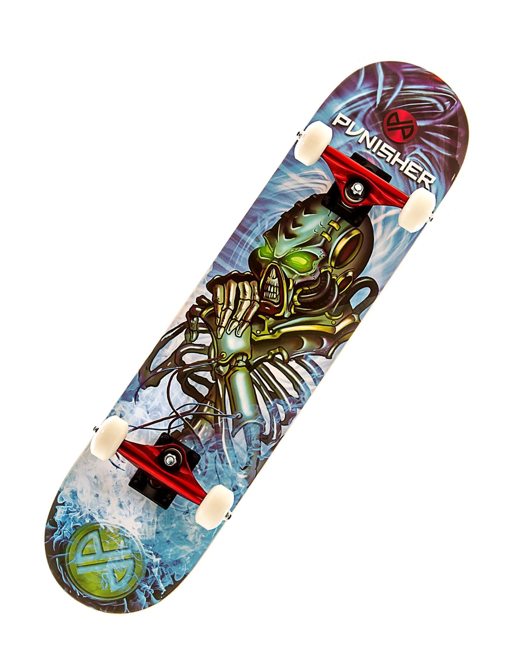 Punisher Skateboards Blue / Multi