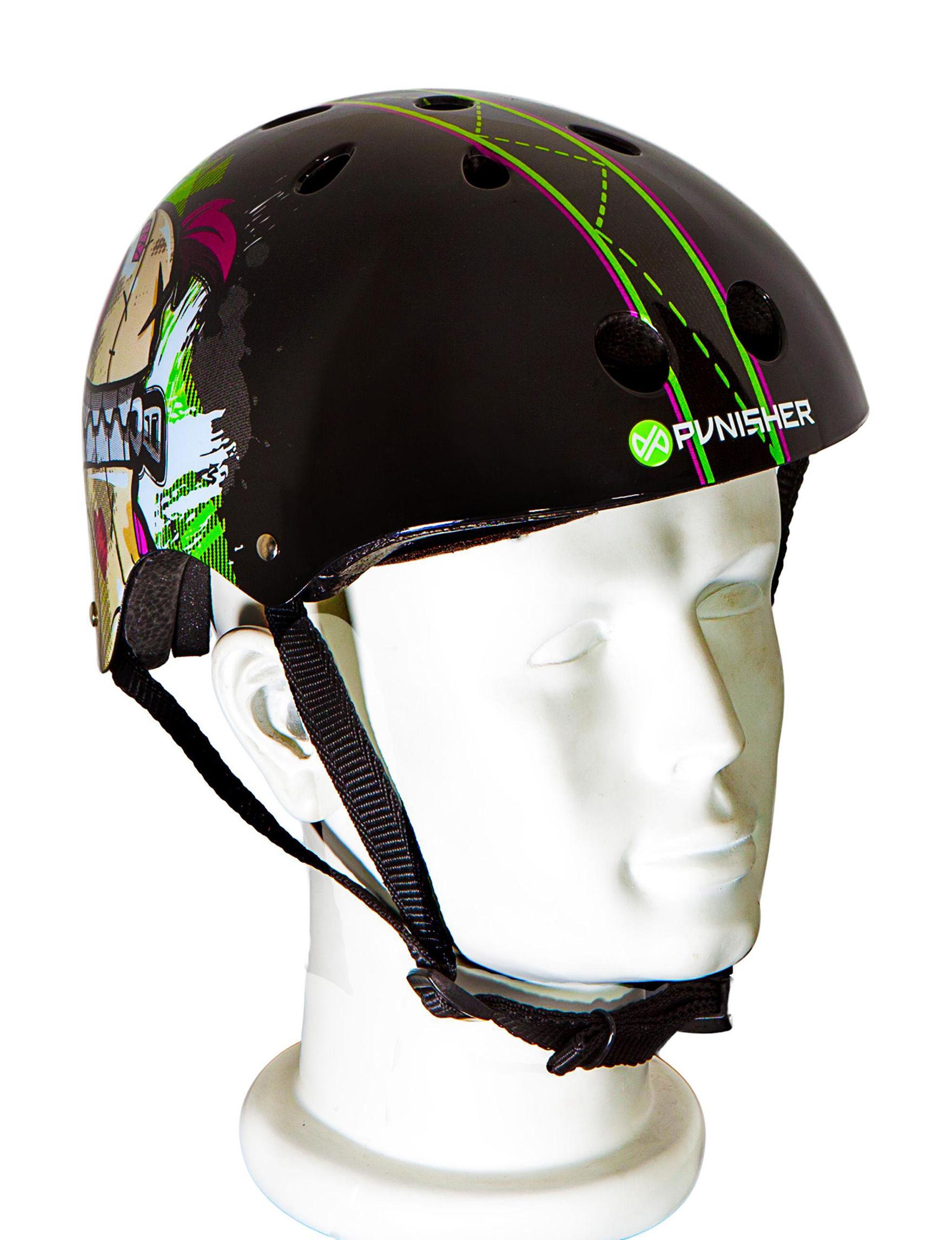 Punisher Skateboards Black / Green