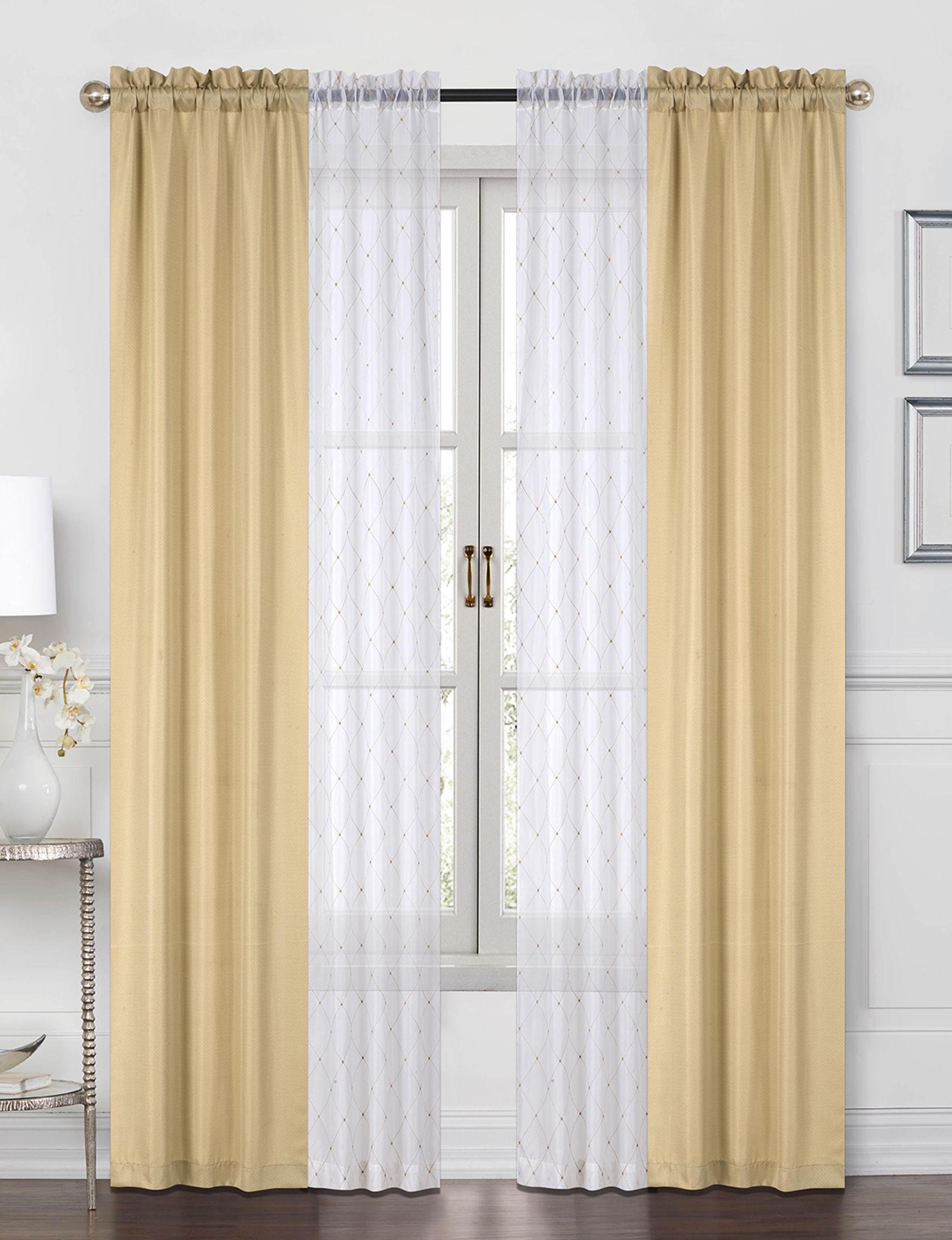 Casa Gold Window Treatments