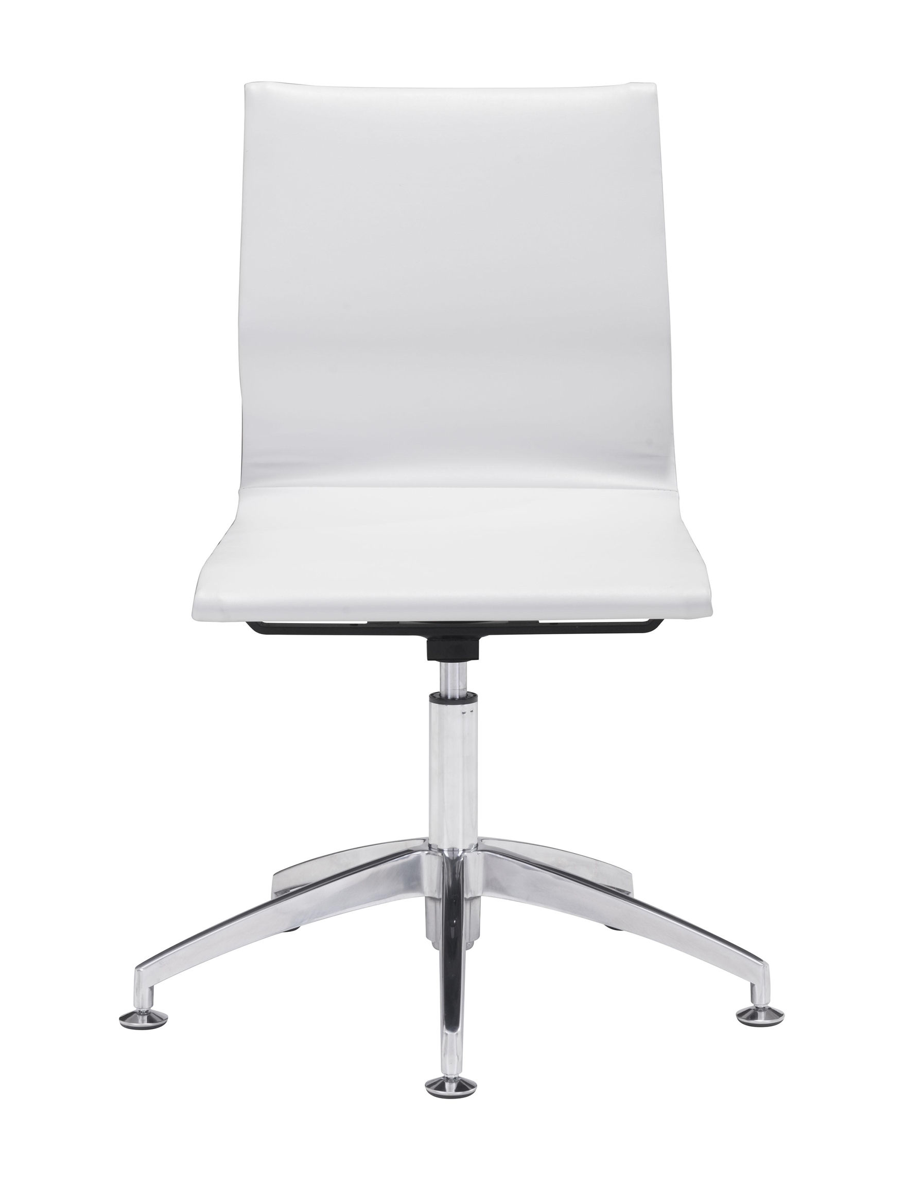 Zuo Modern White Office Chairs Home Office Furniture