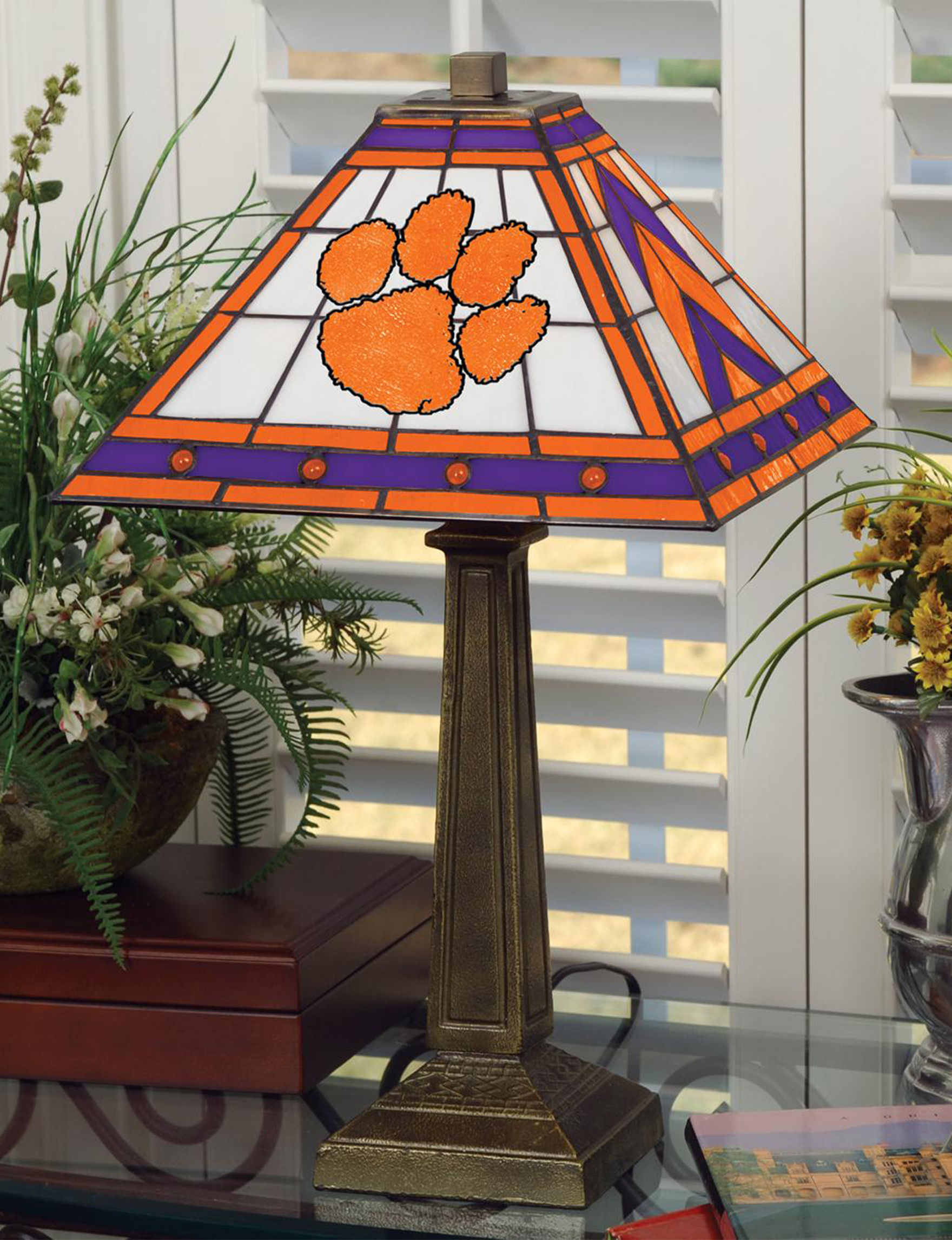 The Memory Company Orange Table Lamps Lighting & Lamps