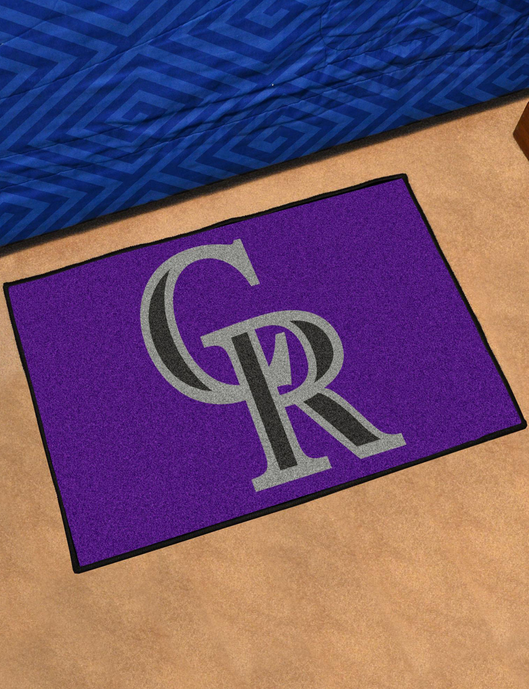 Fanmats Purple Accent Rugs Rugs