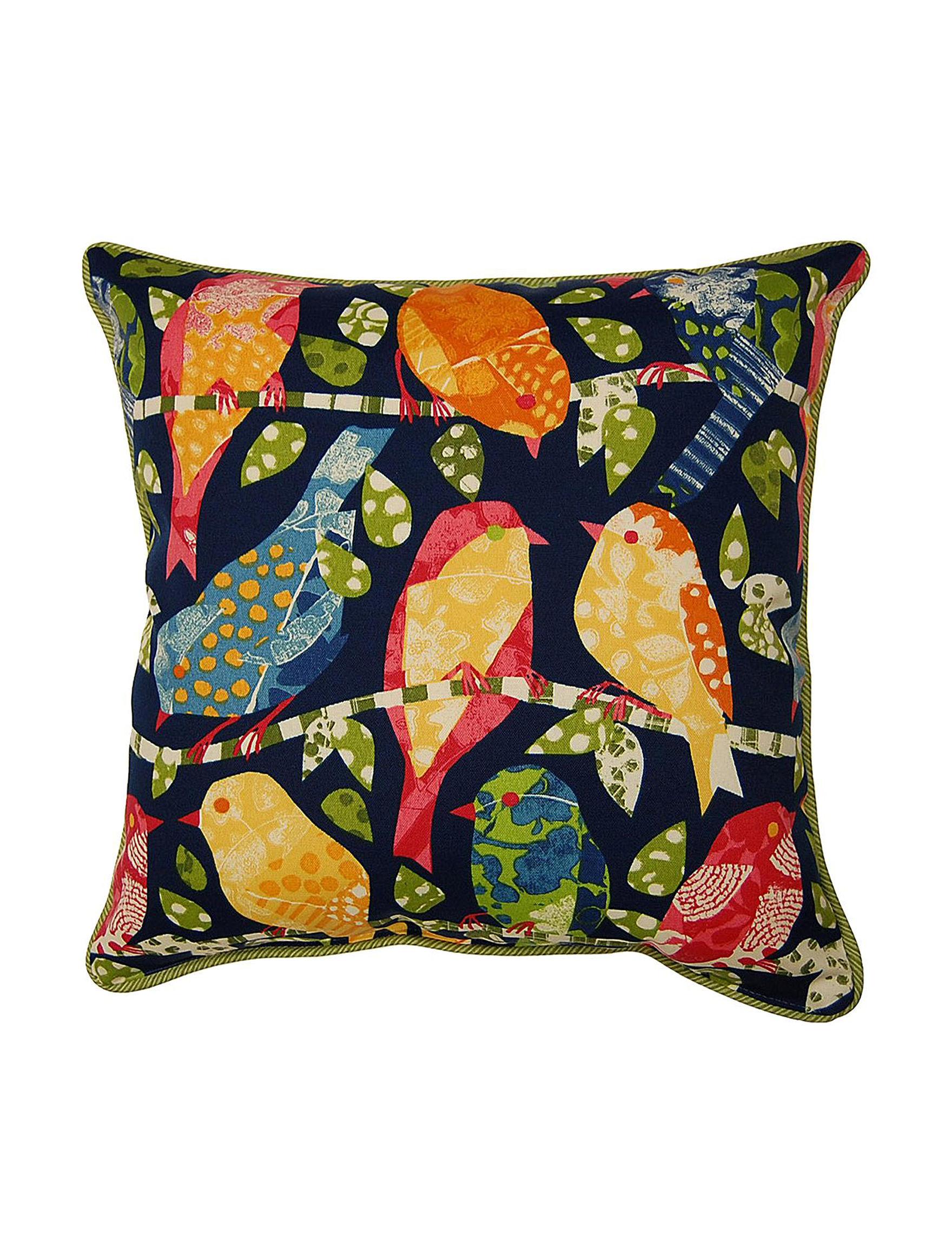 Creative Home Furnishings Black / Multi Decorative Pillows