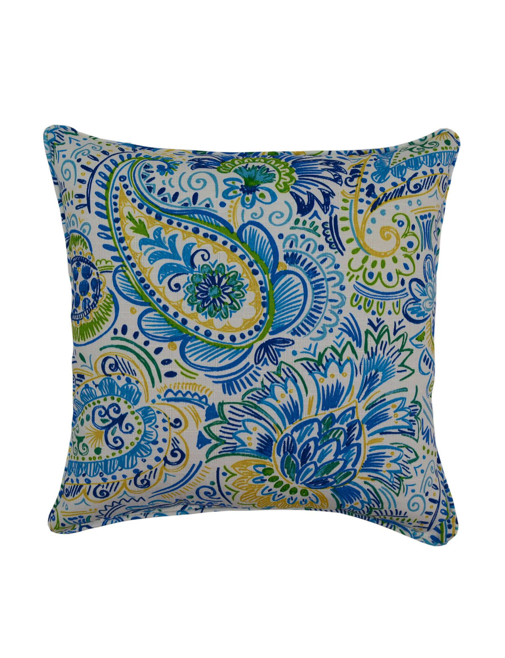 Creative Home Furnishings Blue Decorative Pillows
