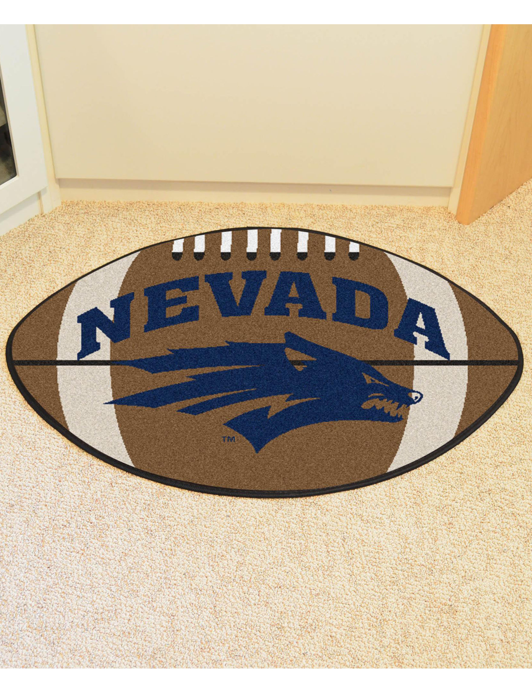 Fanmats Navy Accent Rugs Rugs
