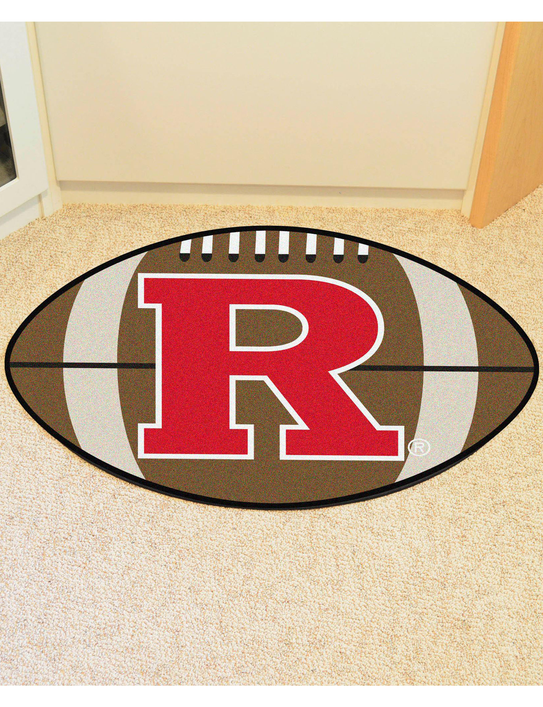 Fanmats Red / White Rugs