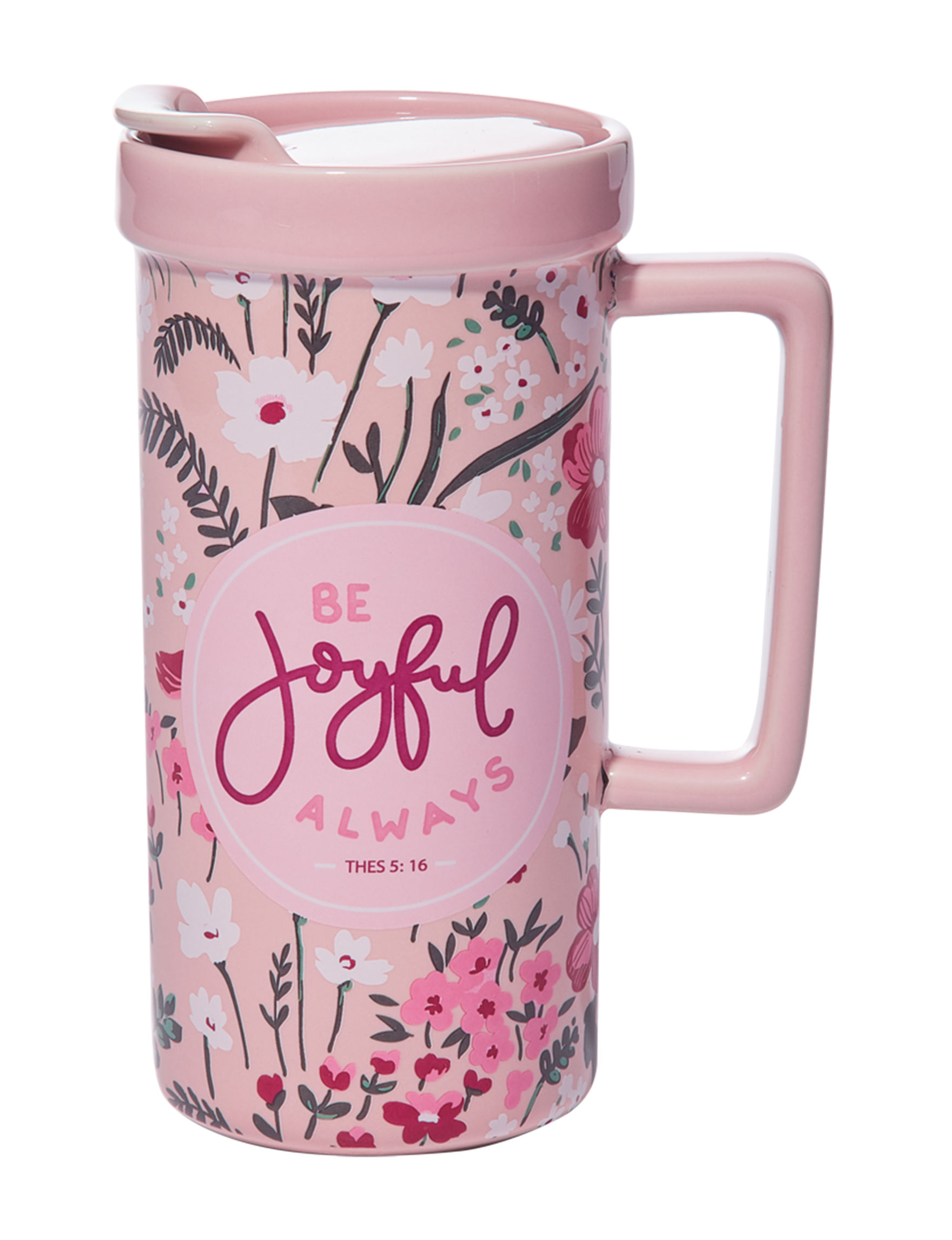 Core Home Pink Mugs Drinkware