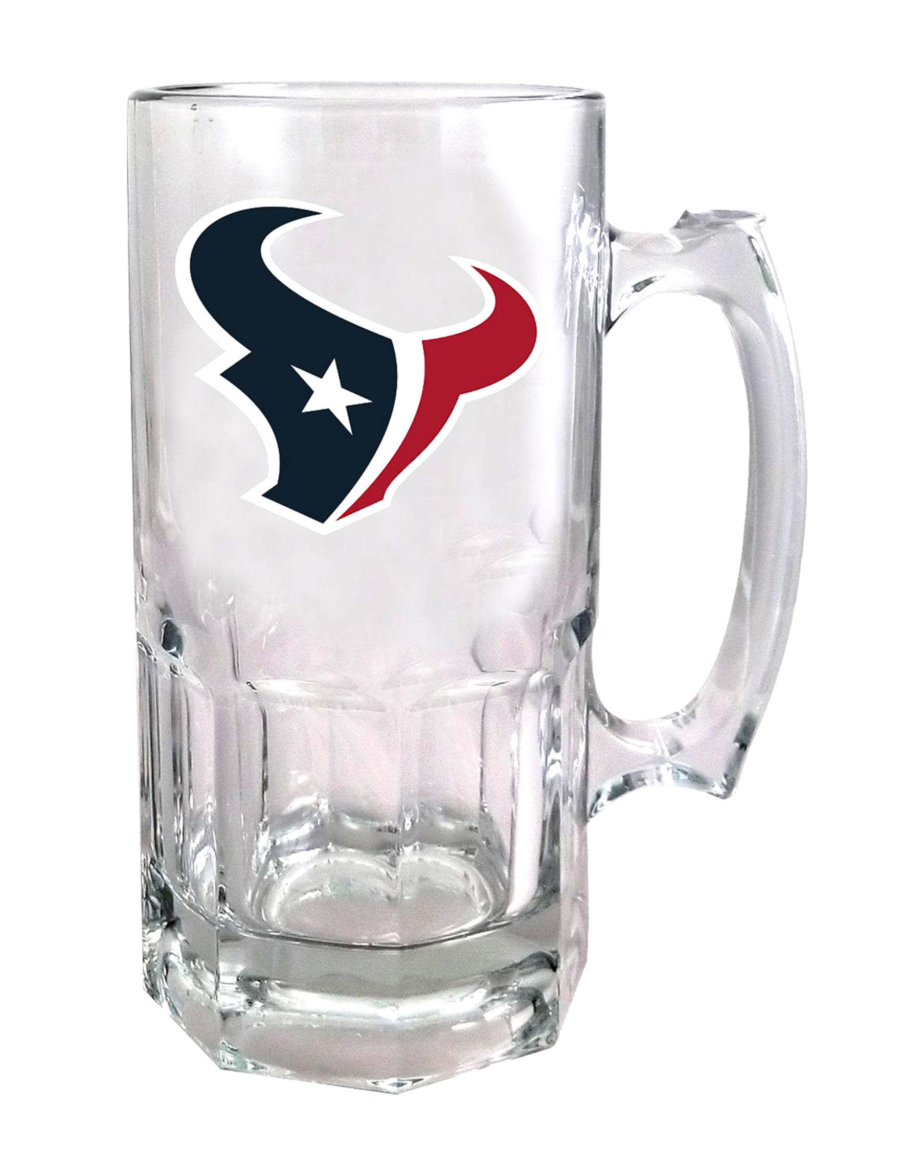 NFL Navy Beer Glasses Drinkware