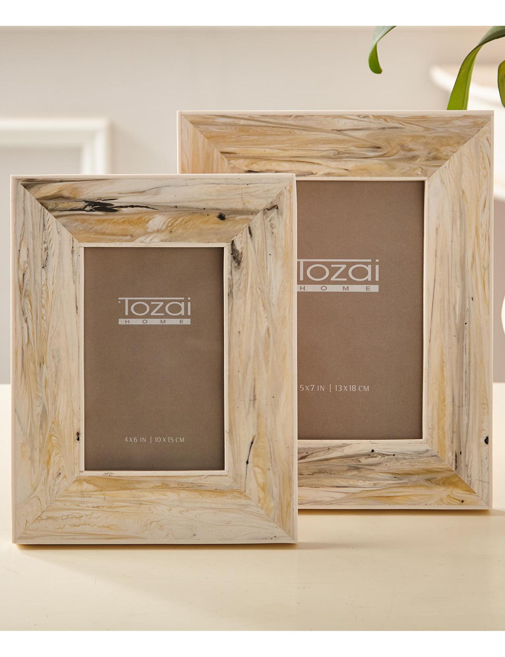 Two's Company Brown Frames & Shadow Boxes