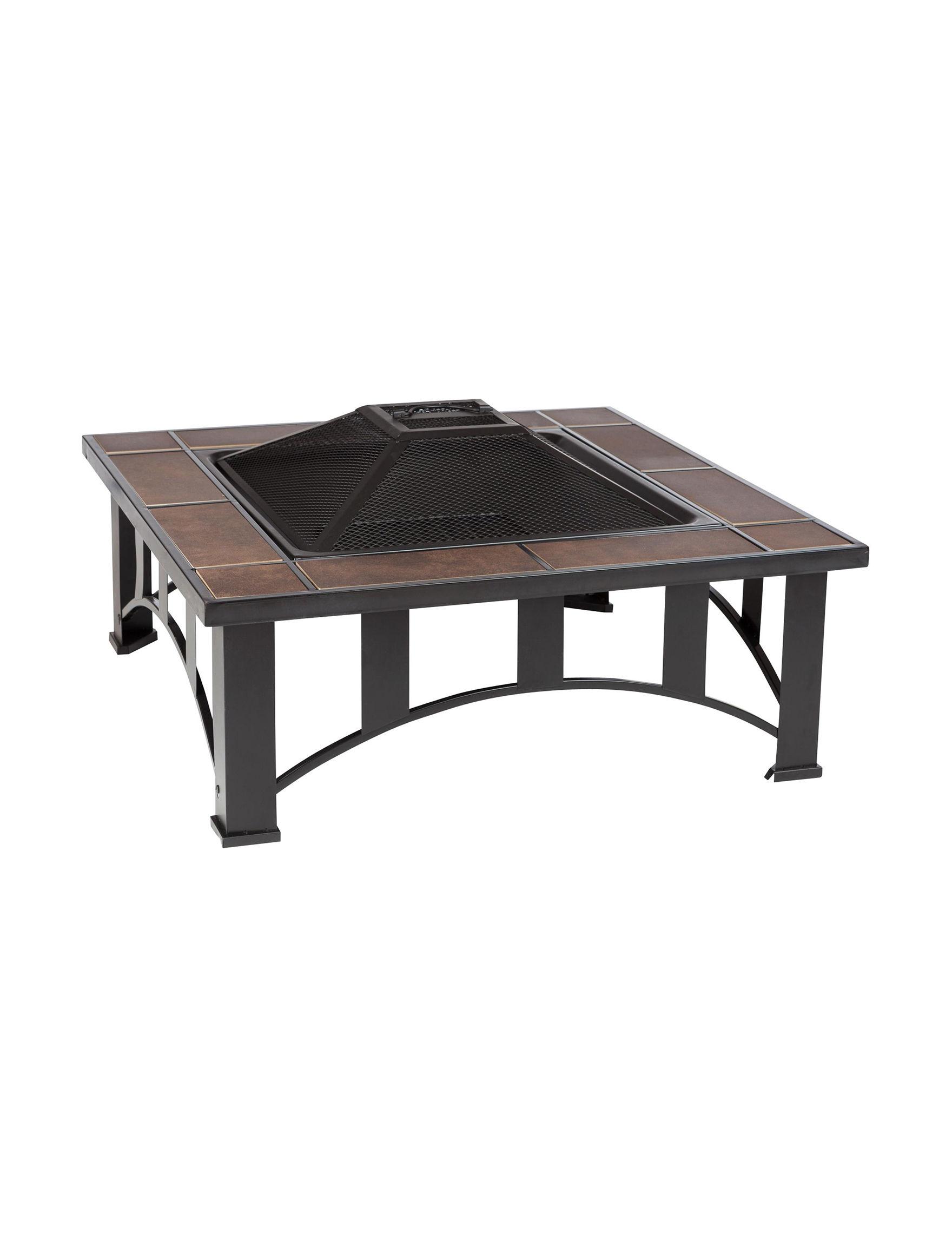 Fire Sense Black Outdoor Entertaining Patio & Outdoor Furniture