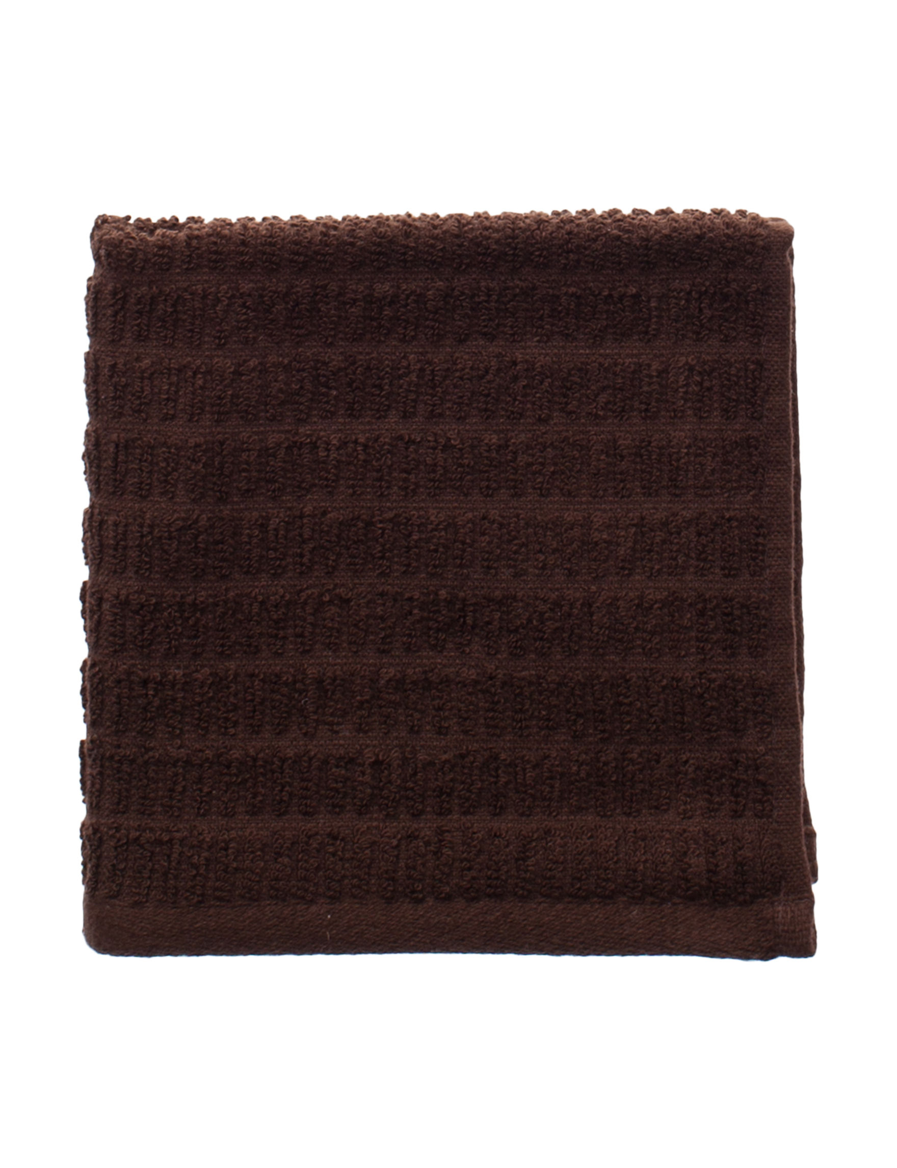 Great Hotels Collection Brown Washcloths Towels
