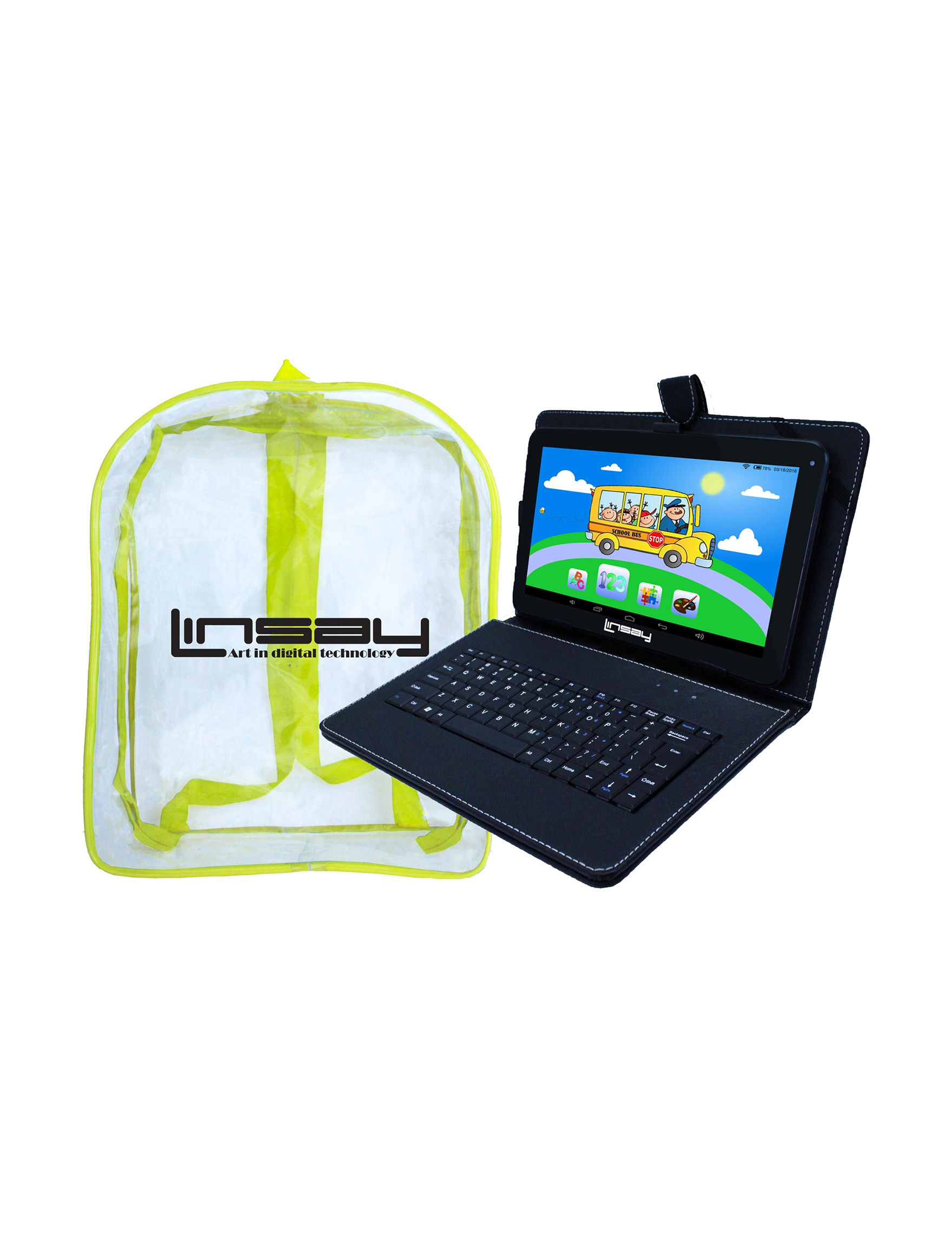 Linsay Black Tablets Computers & Tablets