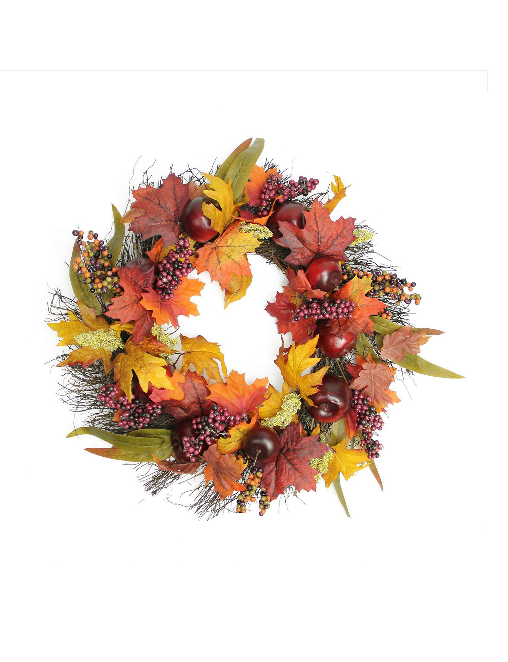 Northlight Red Wreaths & Garland Home Accents Outdoor Decor