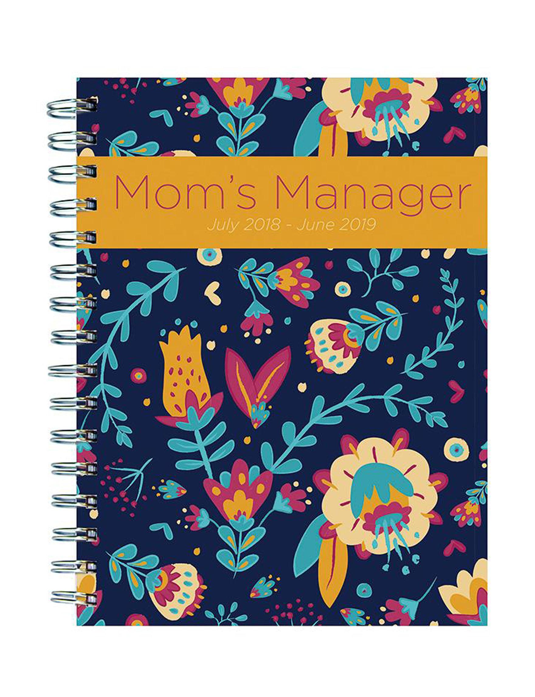 TF Publishing Blue Calendars & Planners School & Office Supplies