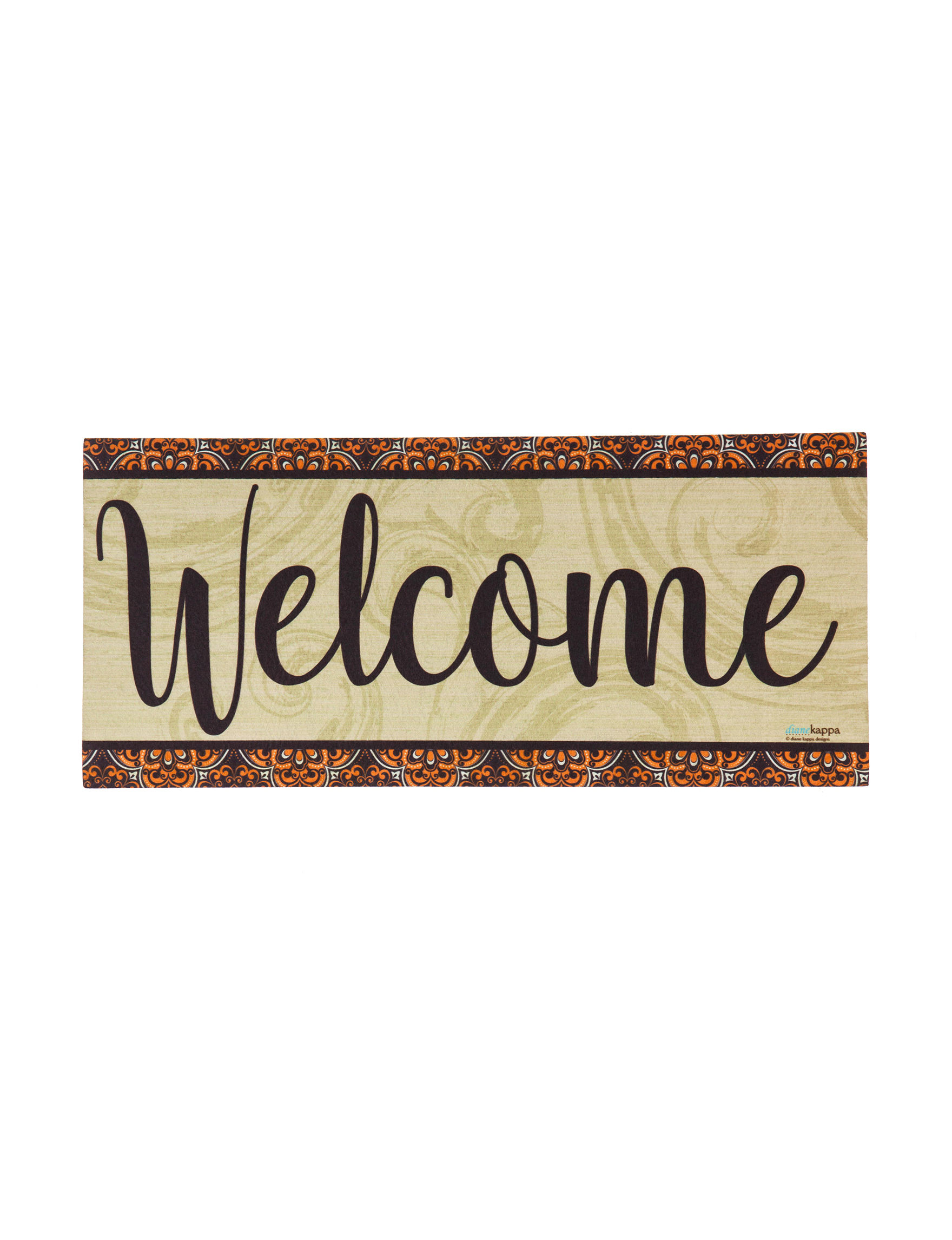 Evergreen Welcome Sassafras Switch Doormat Insert