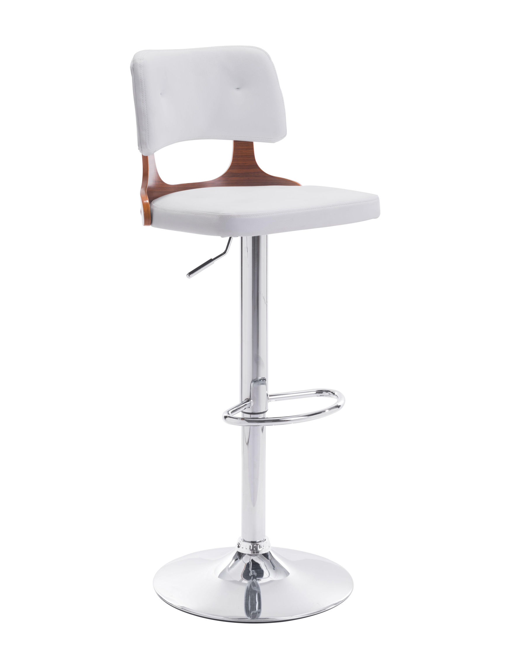 Zuo Modern White Bar & Kitchen Stools Kitchen & Dining Furniture