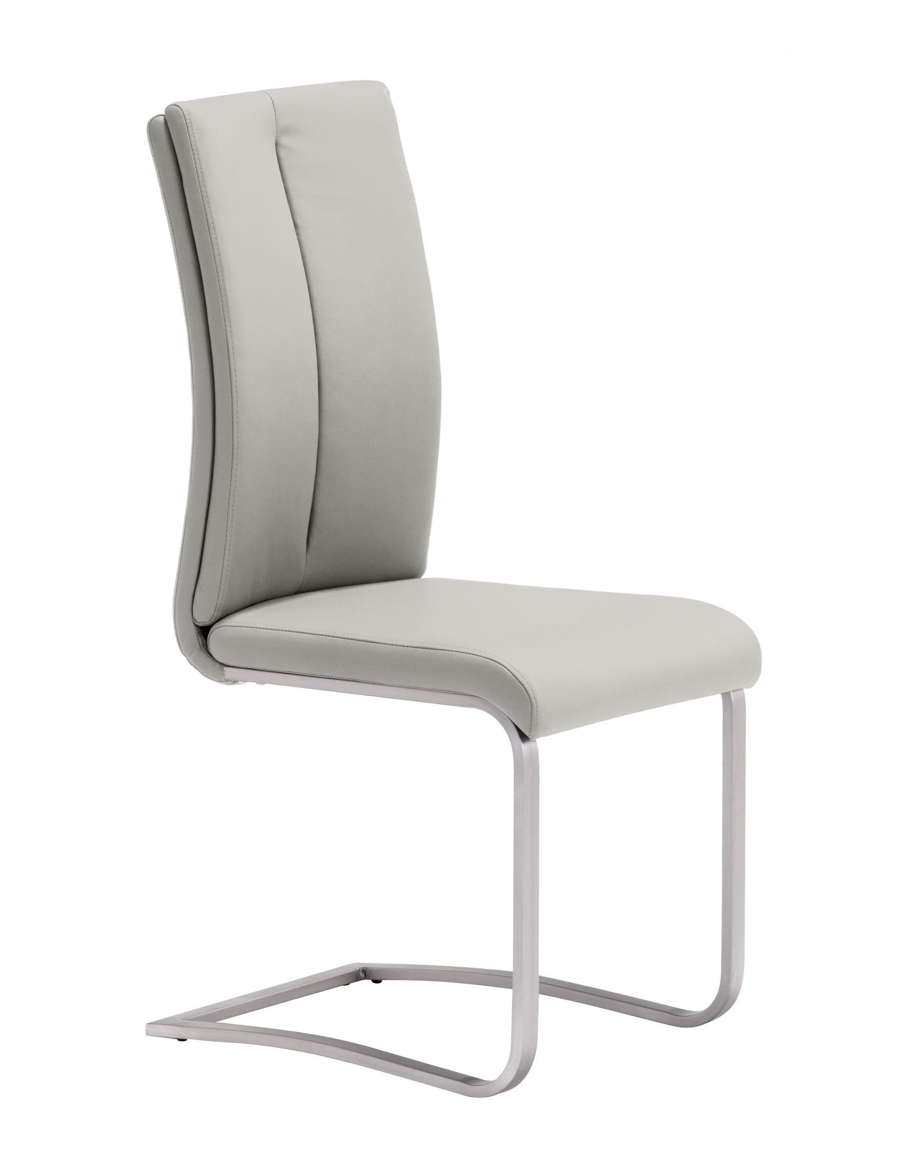 Zuo Modern Light Grey Dining Chairs Kitchen & Dining Furniture