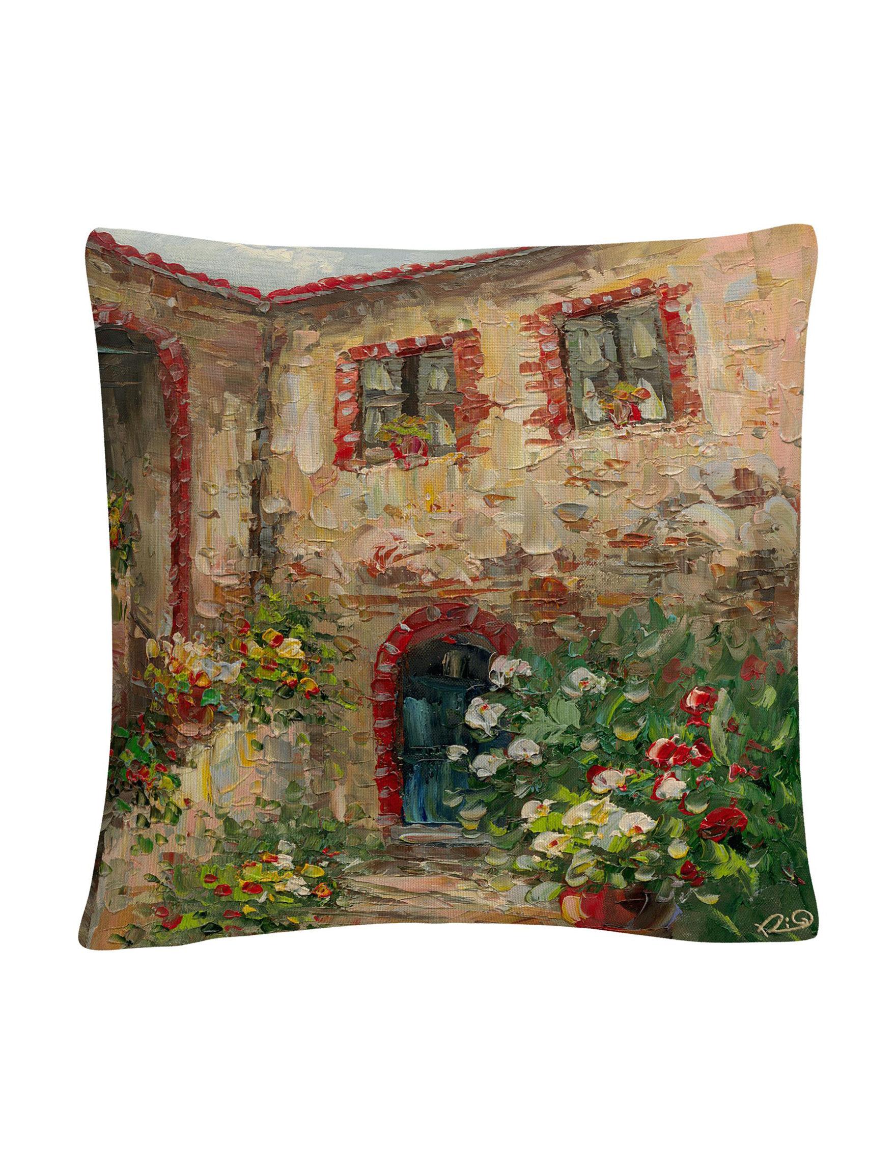 Trademark Fine Art Beige Decorative Pillows