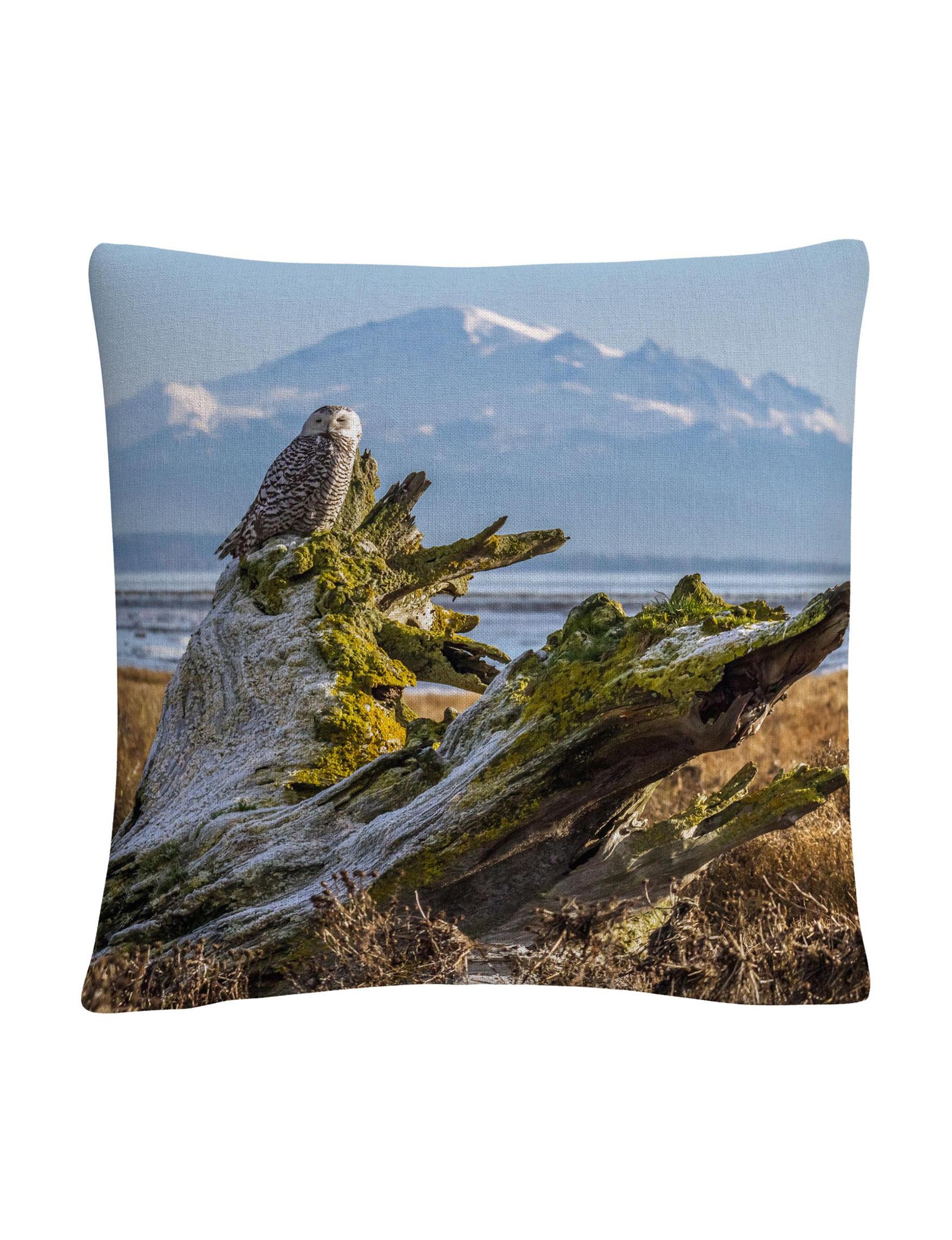 Trademark Fine Art Blue Decorative Pillows