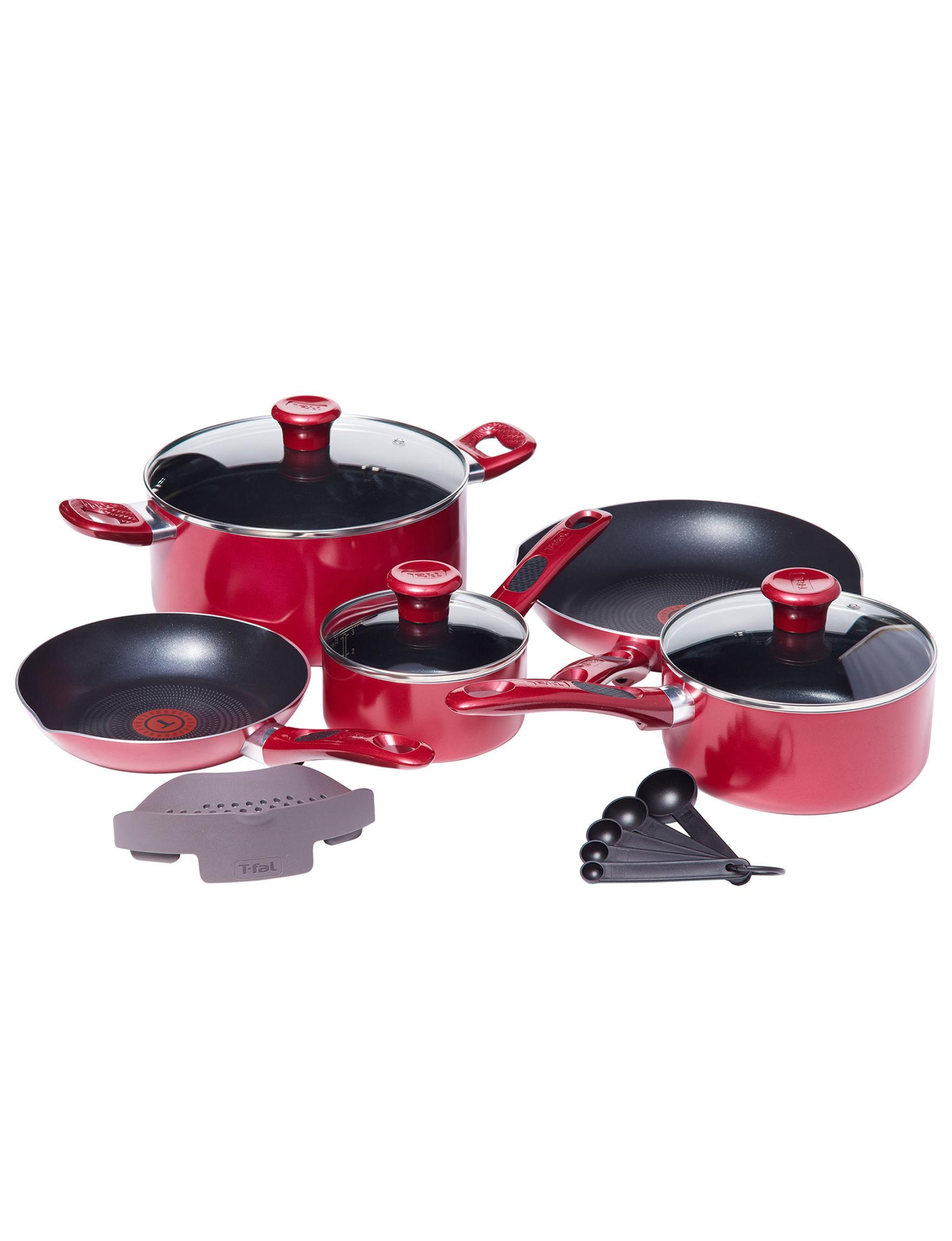T-fal Black Cookware Sets Cookware