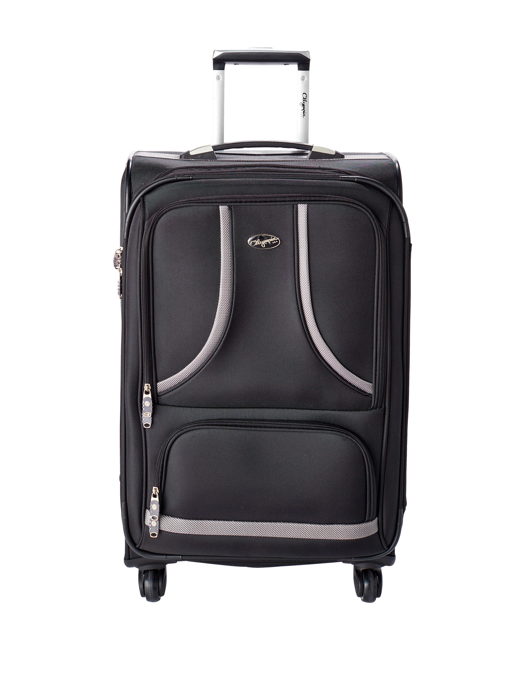 Olympia Black Softside Upright Spinners