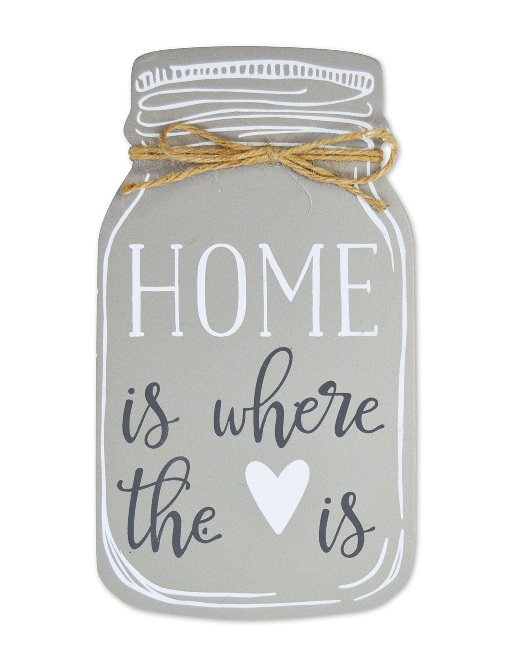 New View Grey Decorative Objects Home Accents