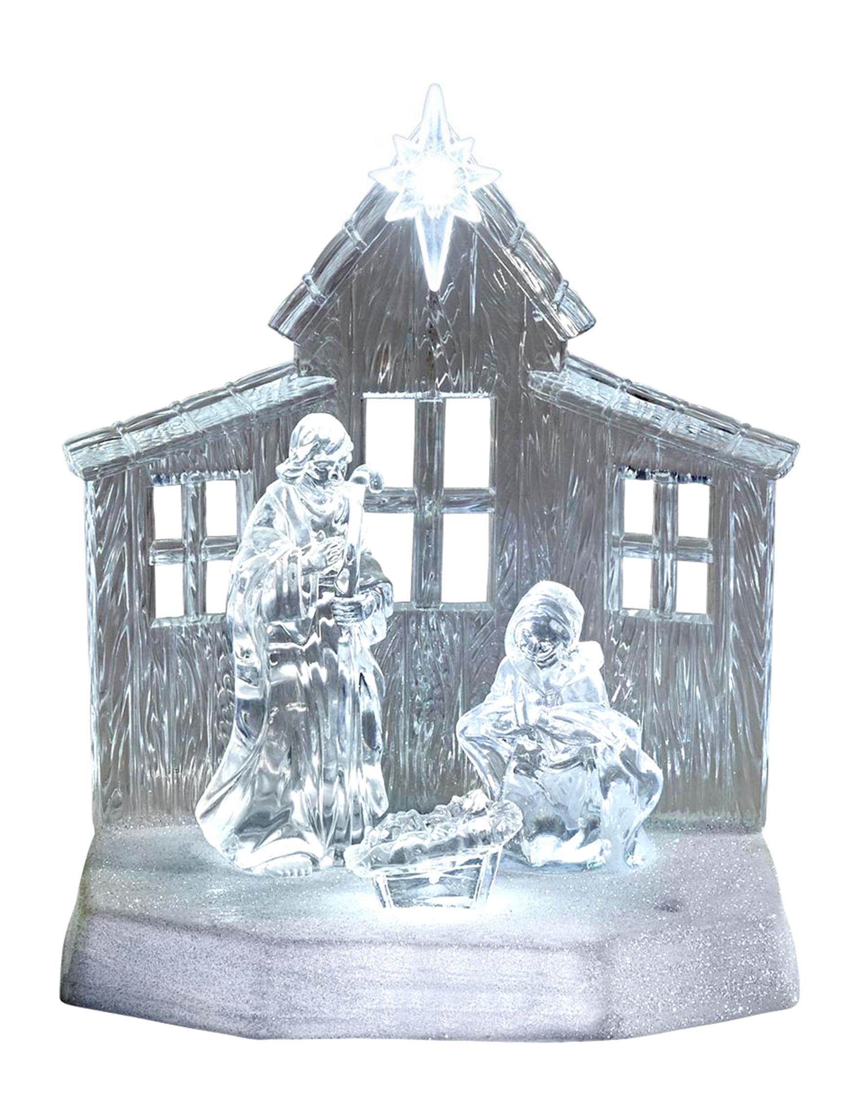 Apothecary White Lights & Lanterns Holiday Decor
