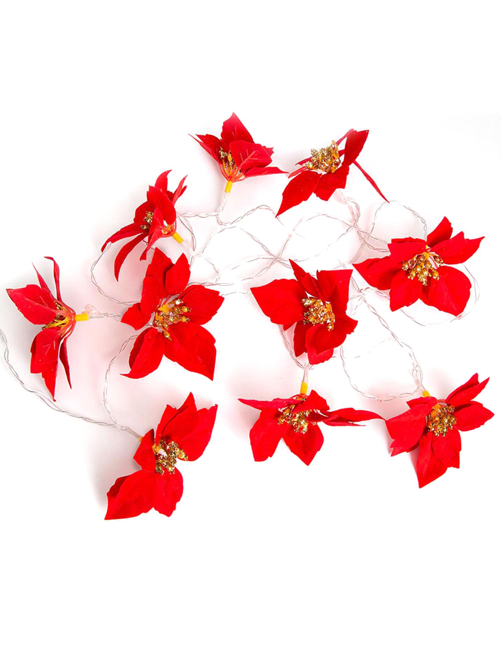 Apothecary Red Christmas Lights Holiday Decor