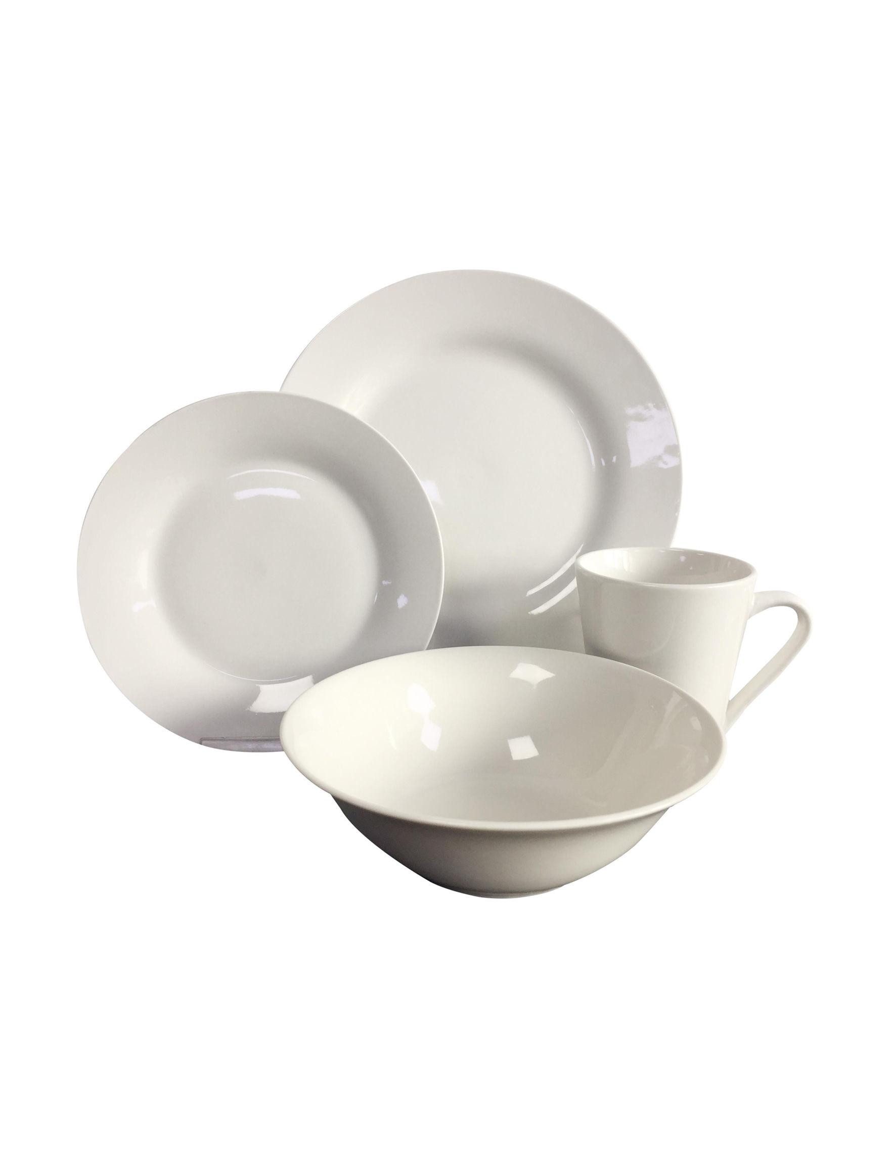 Cucina Vita White Dinnerware