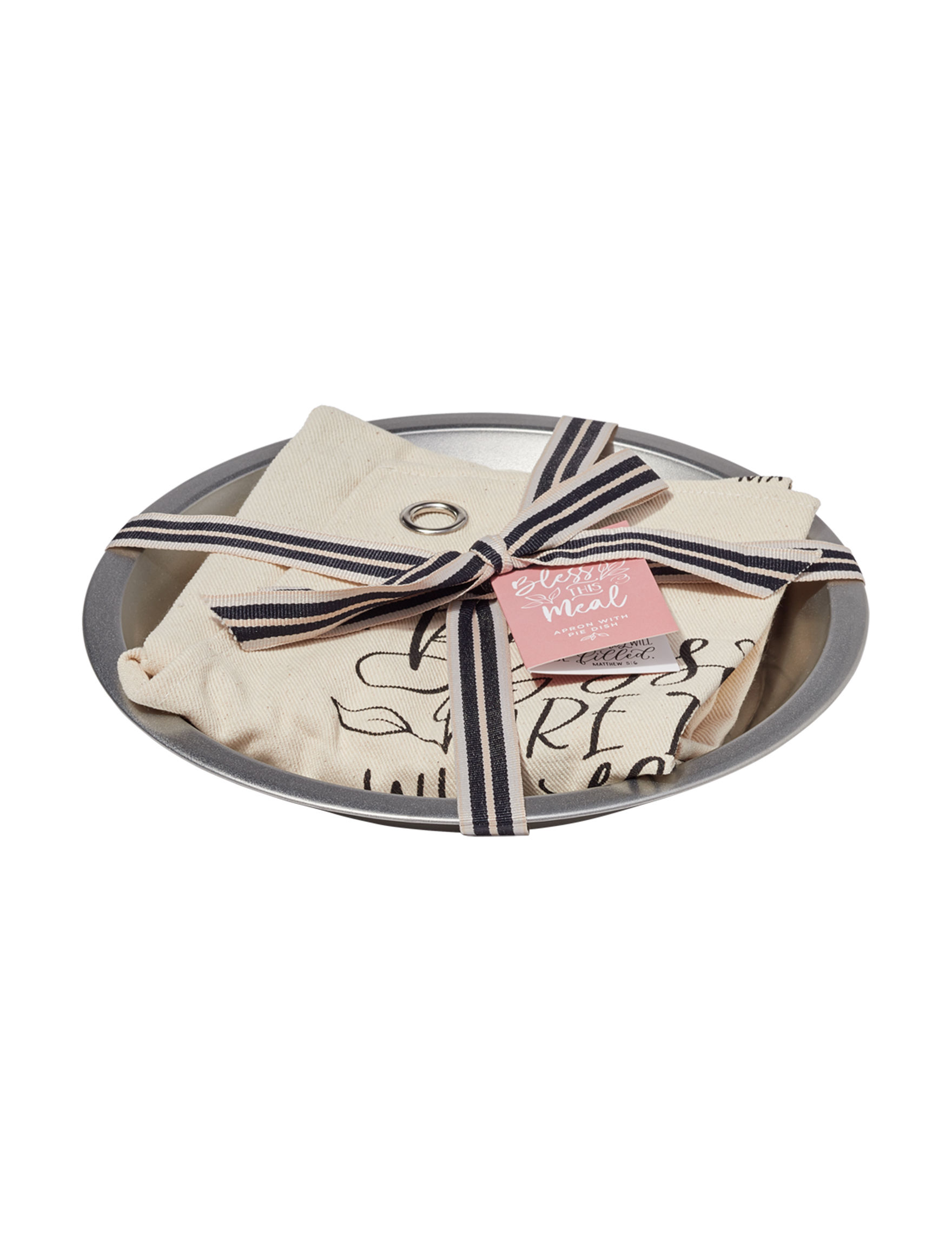 Two's Company White / Silver Baking & Casserole Dishes Bakeware Kitchen Linens
