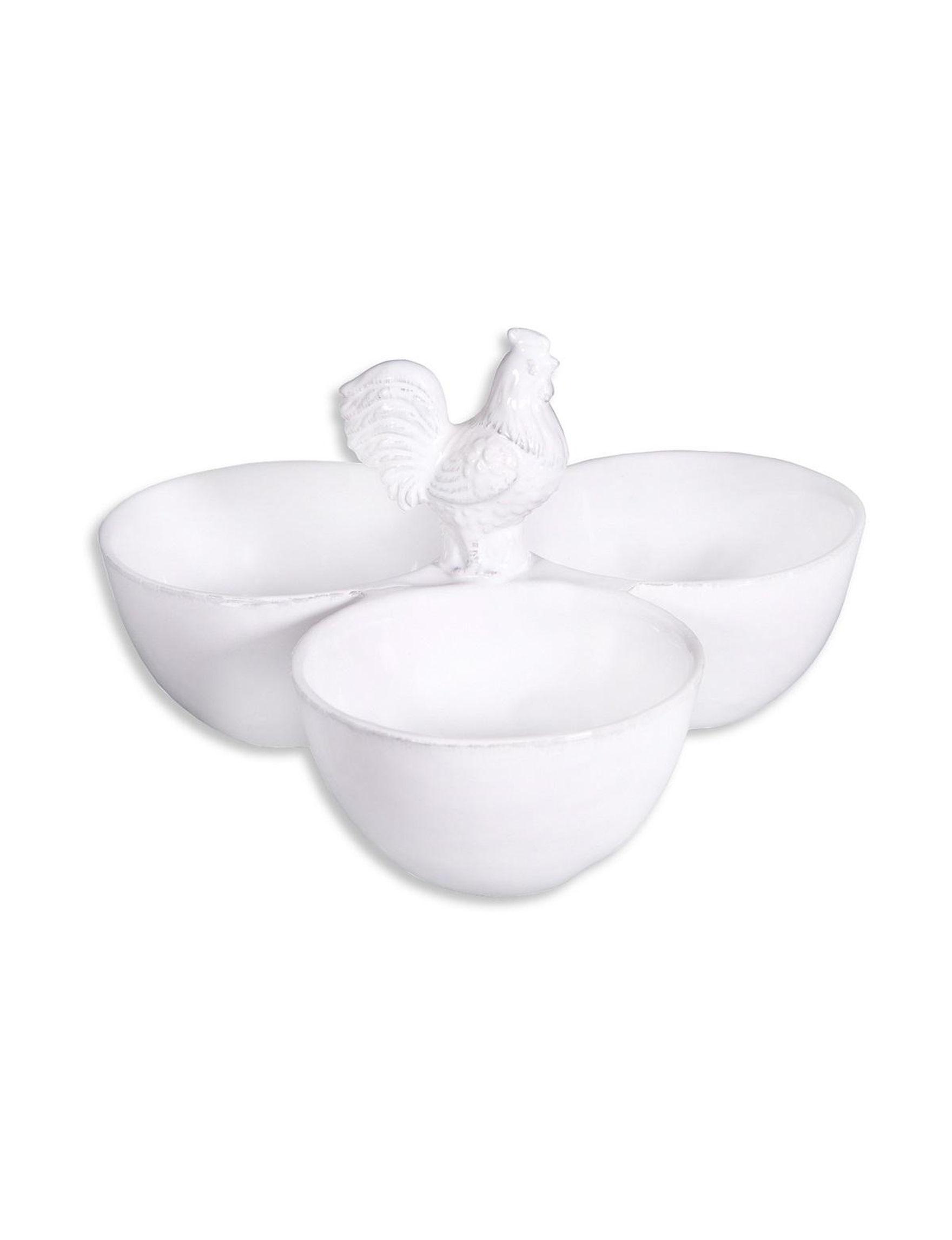 Home Essentials White Serving Bowls Serveware