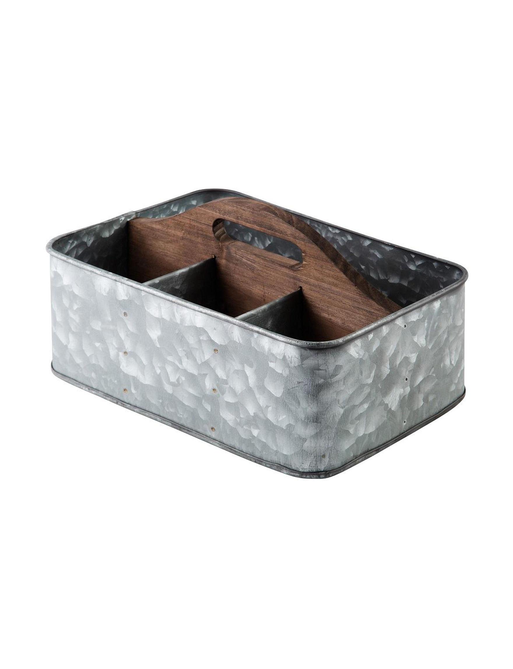 Home Essentials Grey / Brown Kitchen Storage & Organization