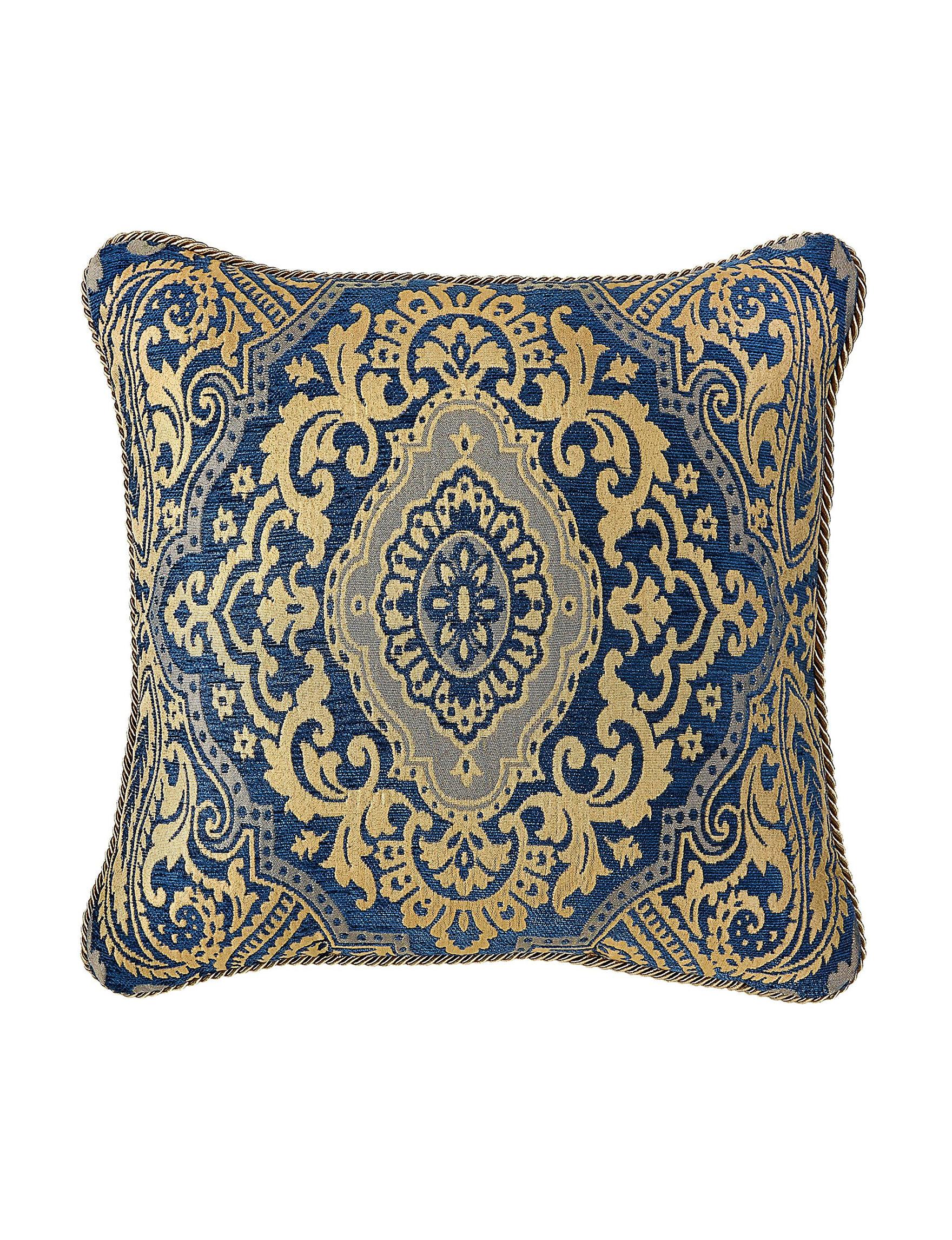 Croscill Navy Decorative Pillows