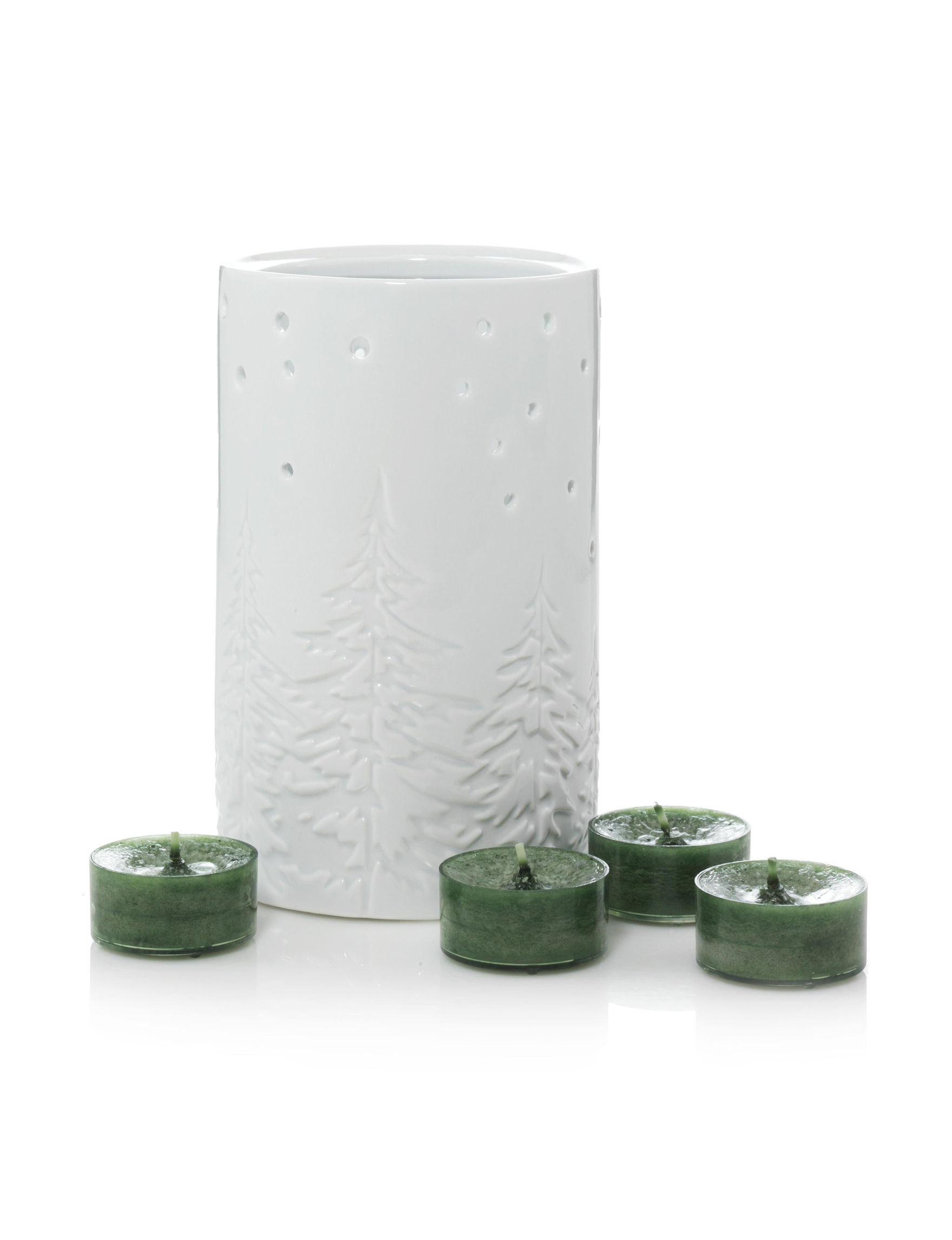 Yankee Candle White Candle Holders Candles & Diffusers