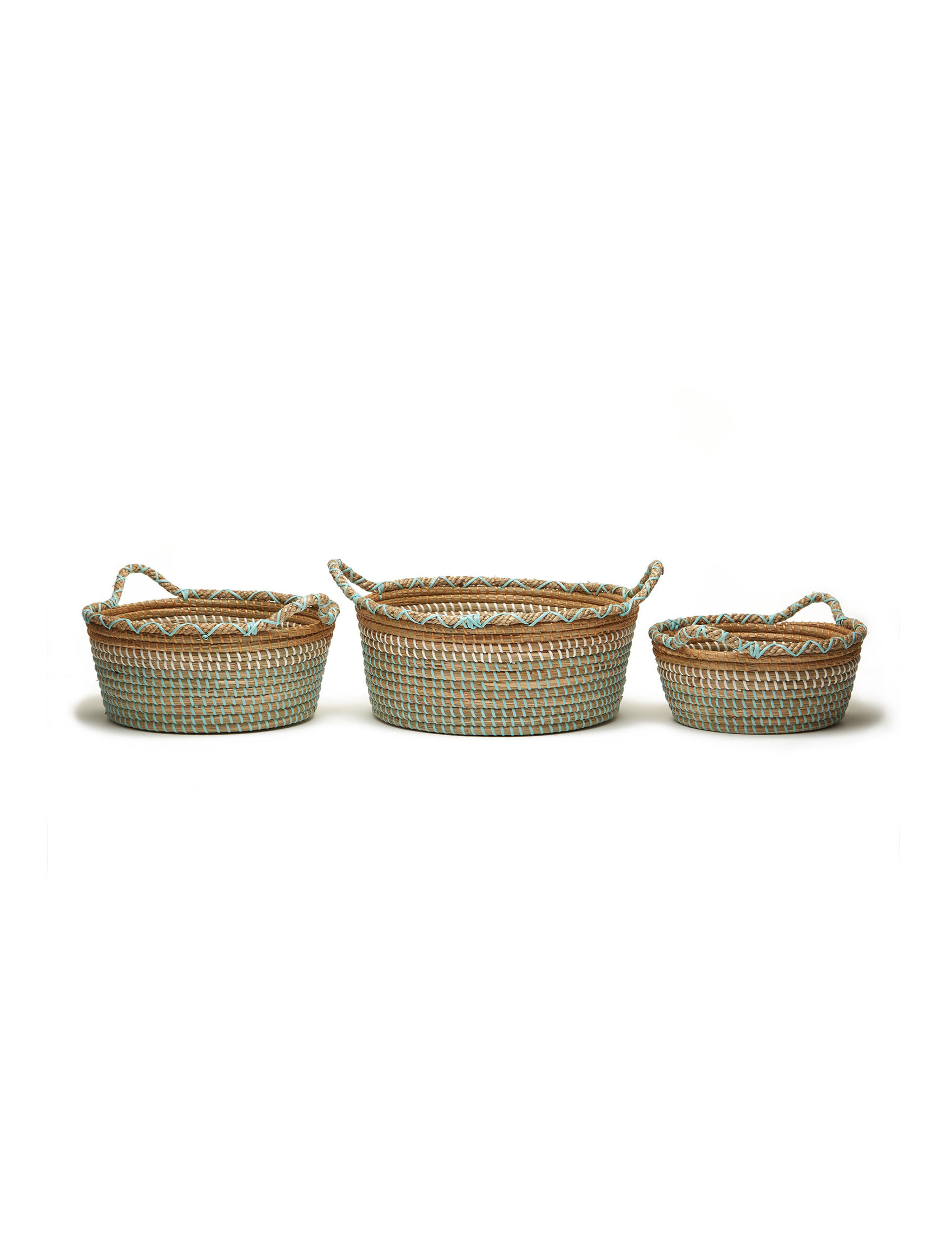Two's Company Brown Baskets Home Accents