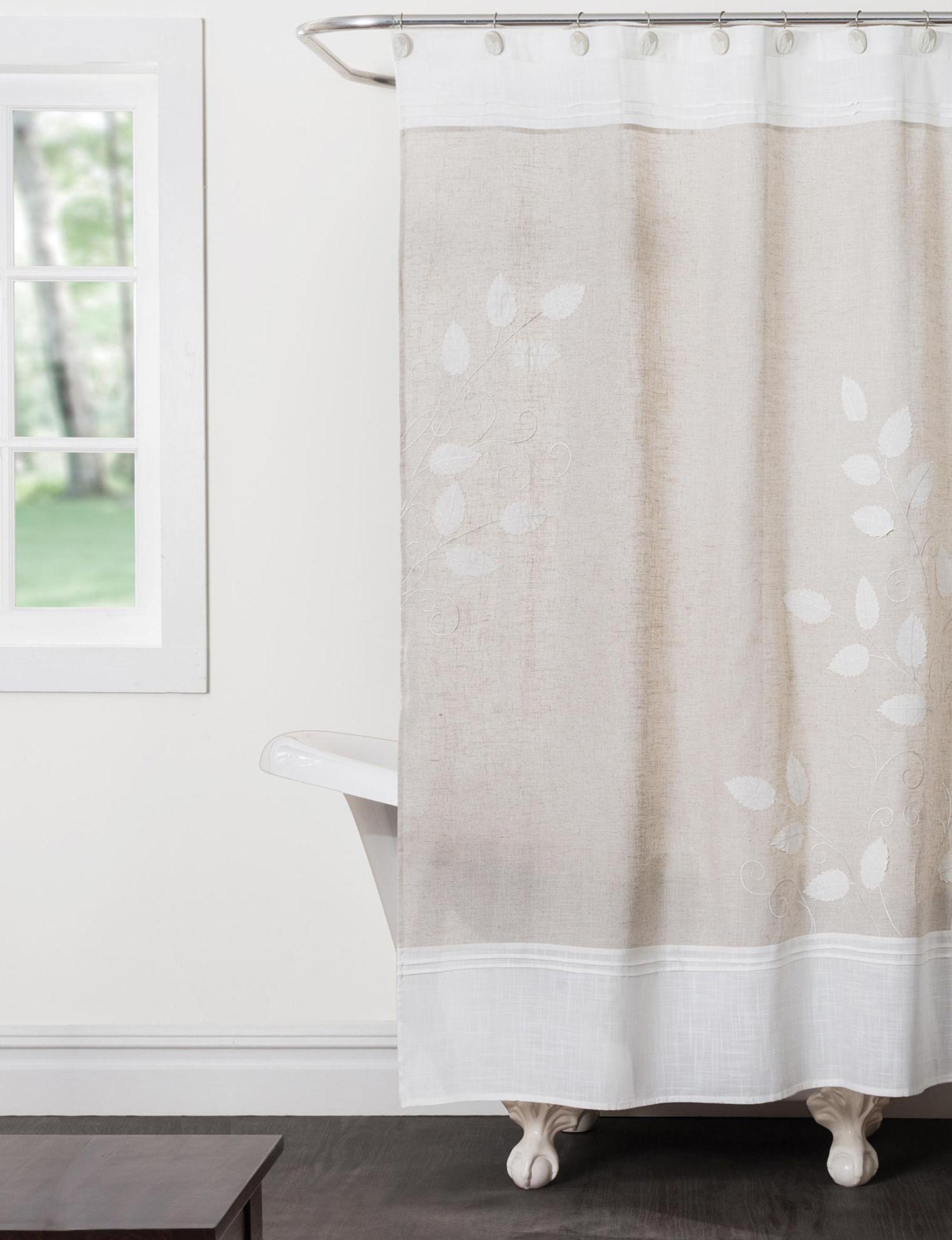 Saturday Knight Natural Curtains U0026 Drapes Shower Curtains U0026 Hooks