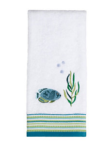 Saturday Knight White Hand Towels Towels