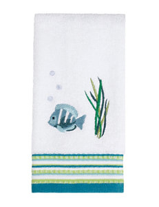 Saturday Knight White Fingertip Towels Towels