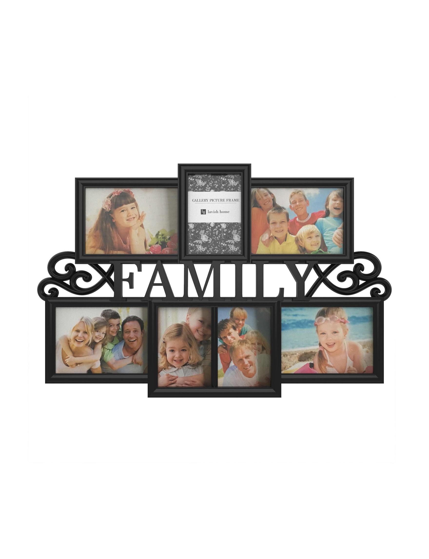 Lavish Home Black Frames & Shadow Boxes