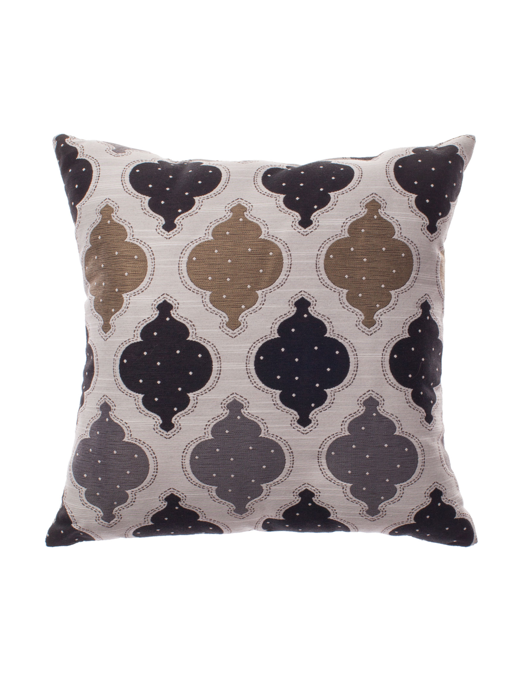 Home Fashions International Black Multi Decorative Pillows