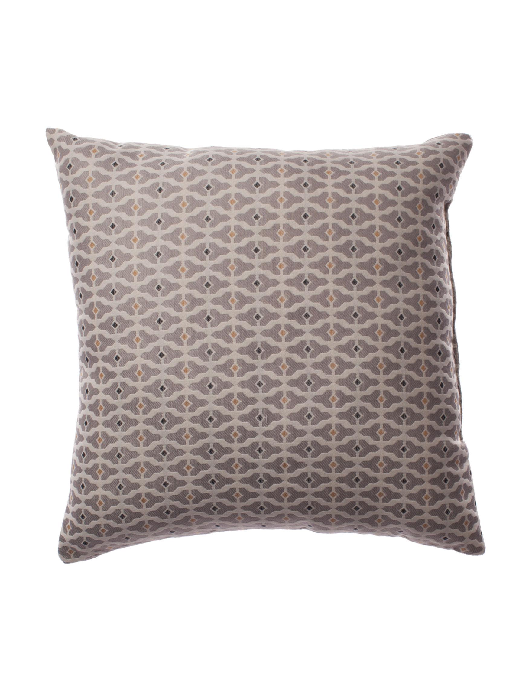 Home Fashions International Grey Decorative Pillows