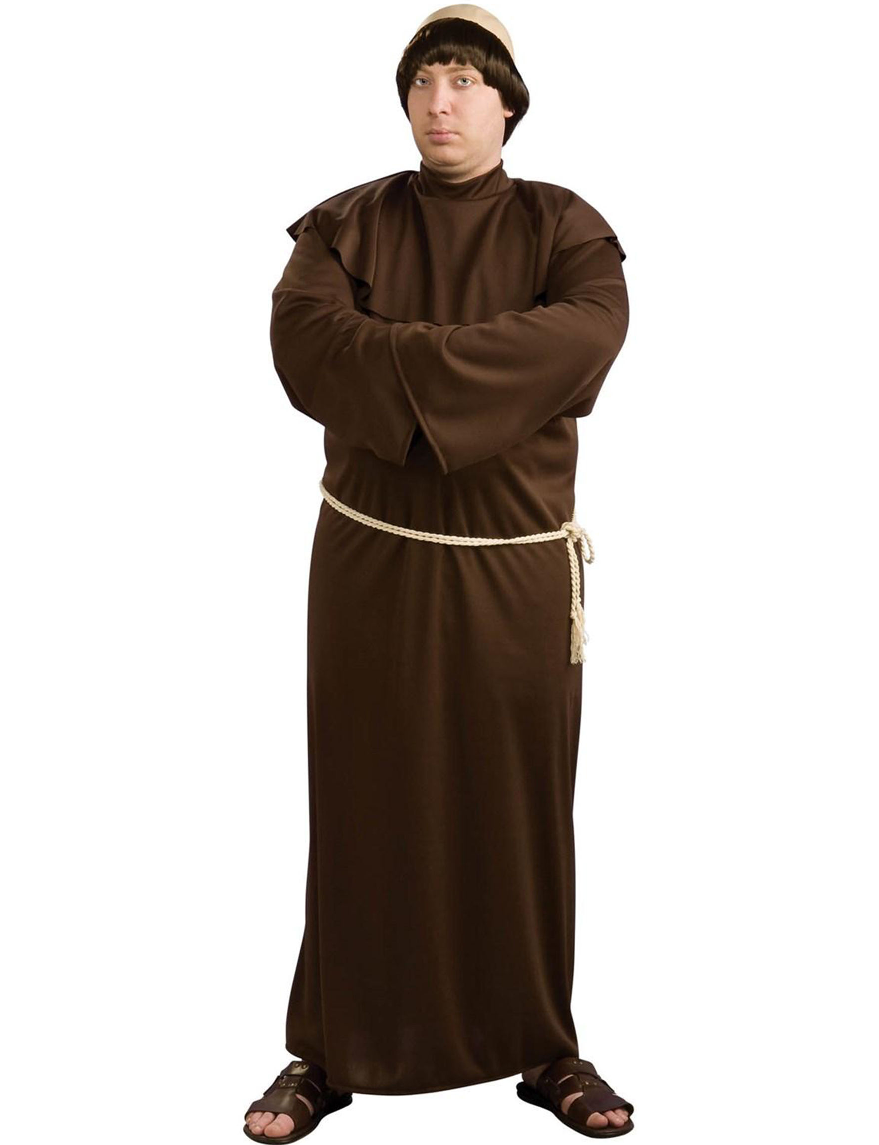 Monk Adult Costume  sc 1 st  Stage Stores & 3-pc. Monk Adult Costume | Stage Stores