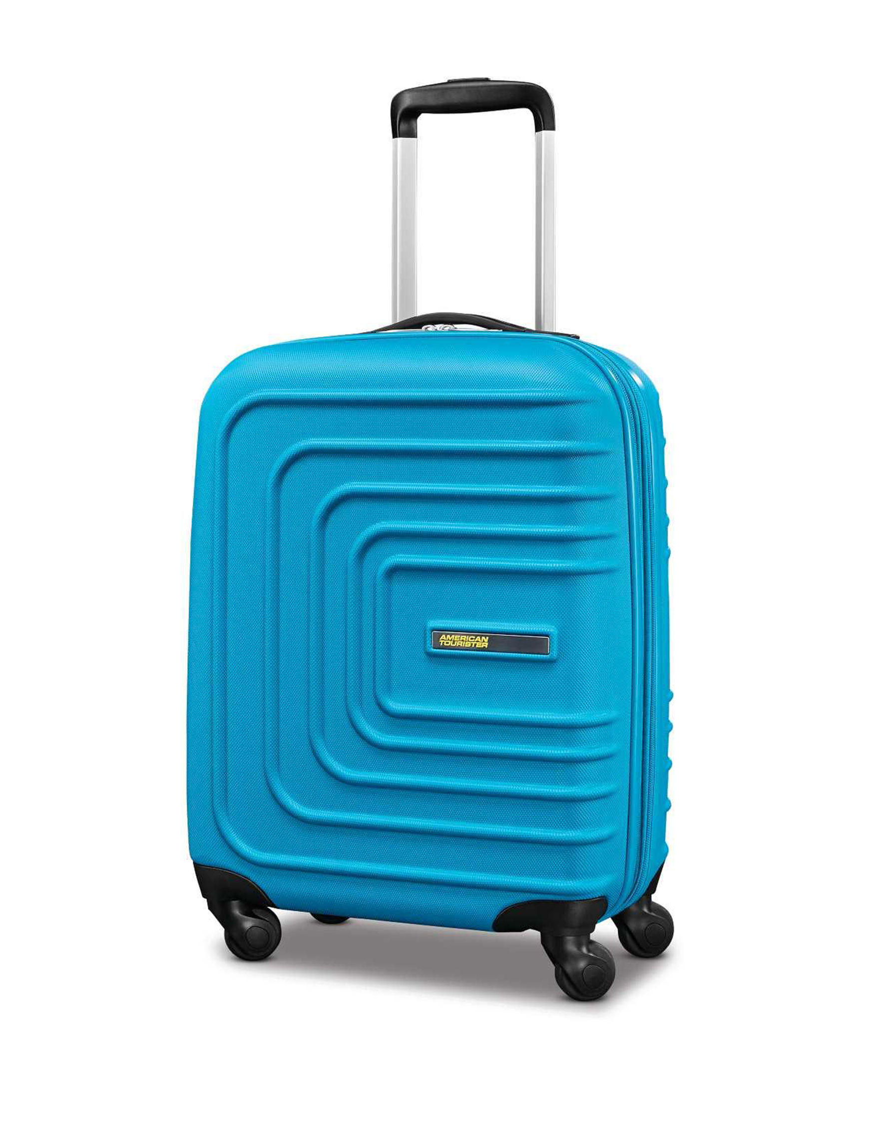 American Tourister Blue Hardside Upright Spinners