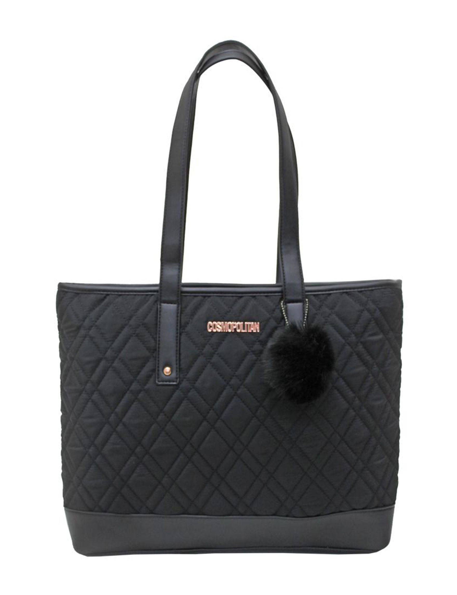 Cosmopolitan Black Travel Accessories Weekend Bags